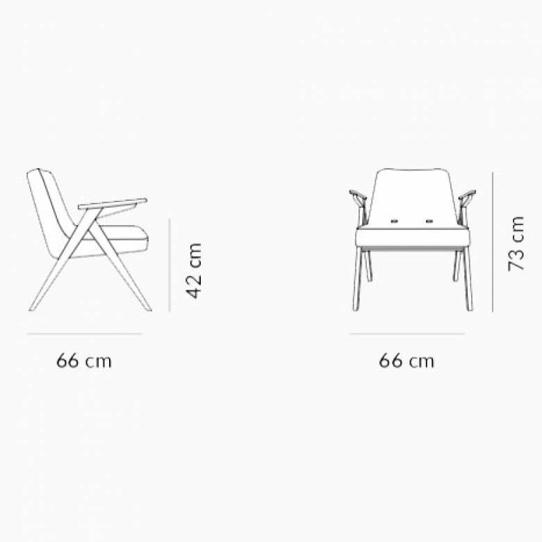 Bunny Armchair - Velvet Fabric