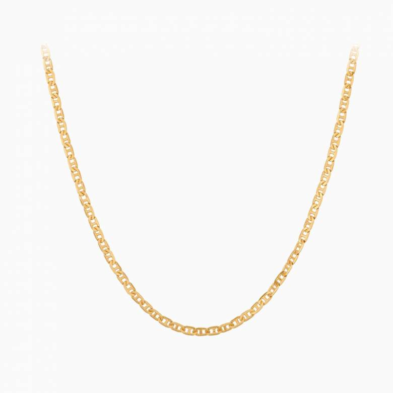 Gold Therese Necklace By Pernille Corydon