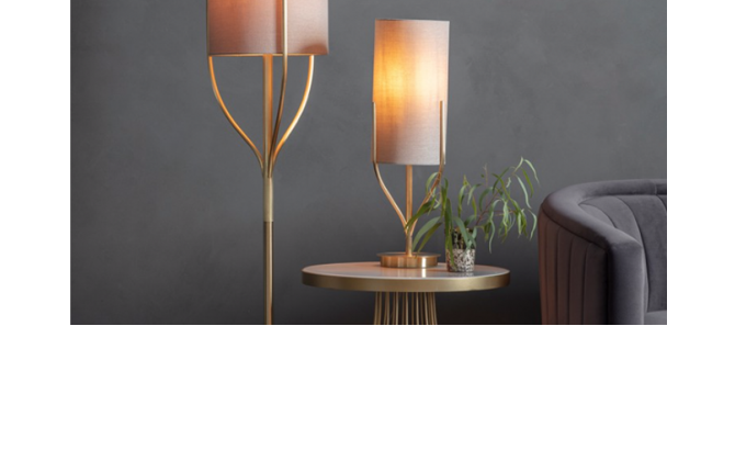 Lighting - Contemporary styling with a mid-century twist...