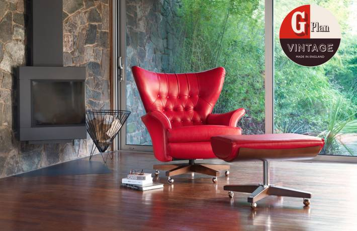 G Plan Vintage The Sixty Two Range of Armchairs & Footstools