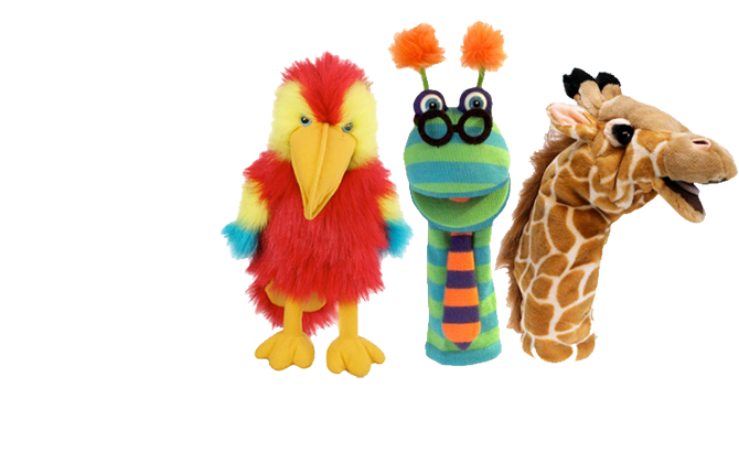 Puppets - The cutest, widest range of hand and finger puppets!!!