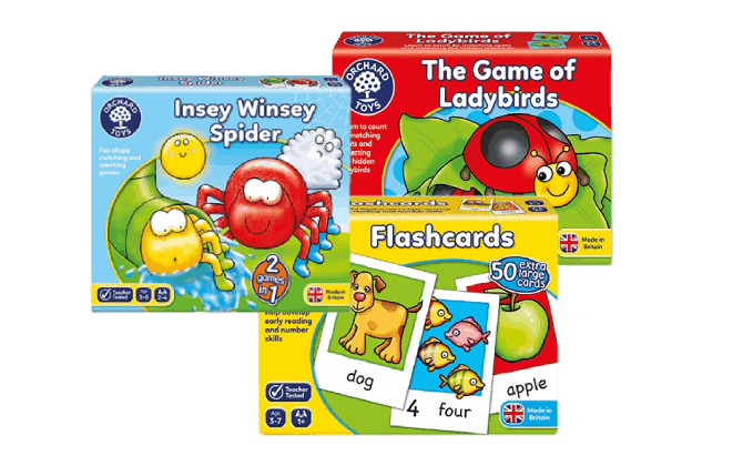 Orchard Toys - Games & Puzzles - Passionate about Toys that educate.