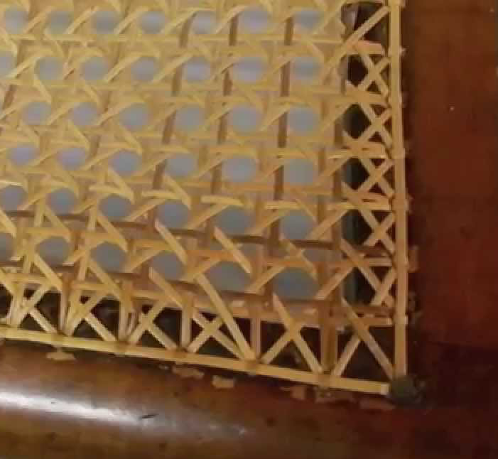 To Calculate The Cost Of Your Seat Or Other Panel, Simply Count The Holes  Around The Edge Of The Frame   Not The Holes That The Pattern Of The Cane  Makes ...