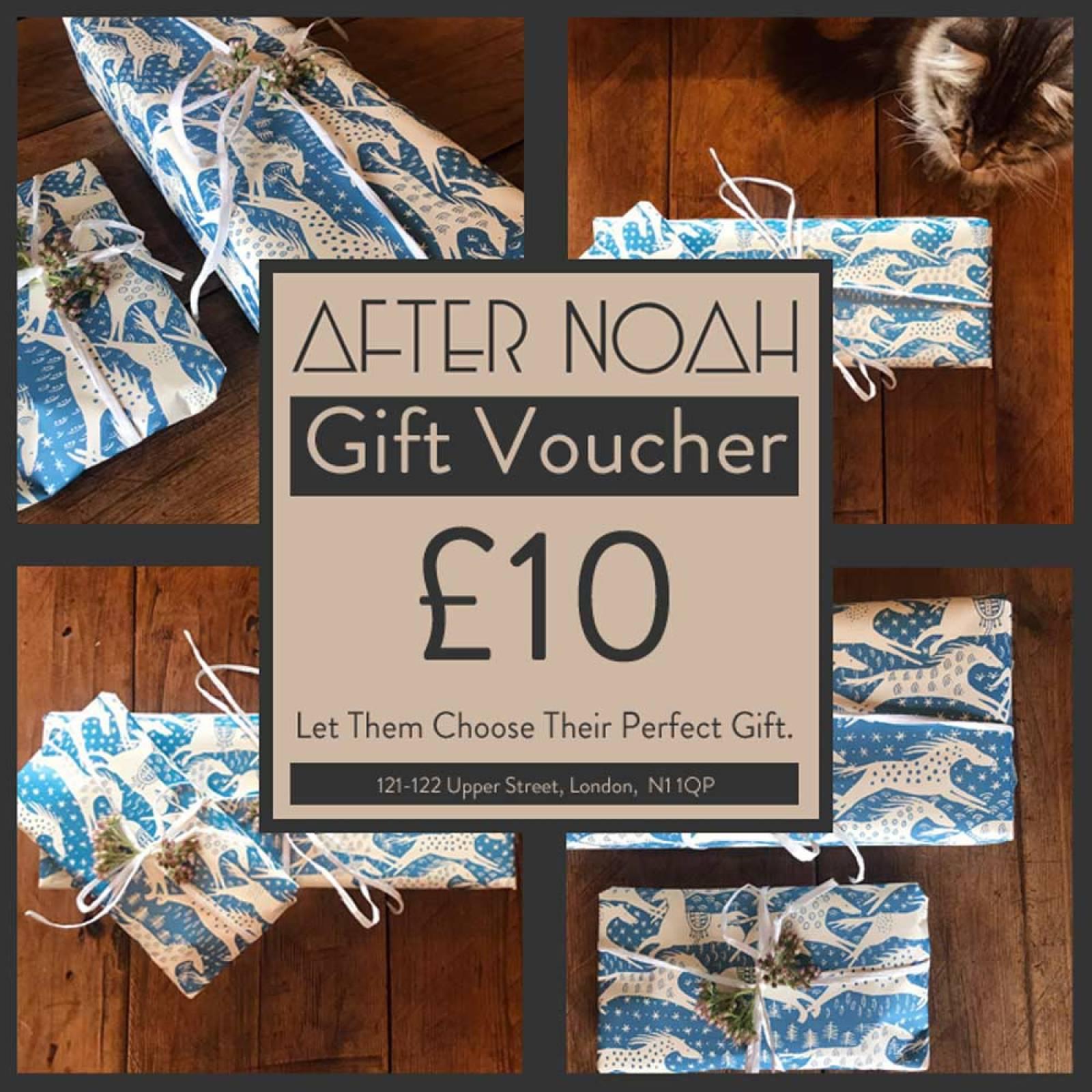 After Noah £10 Gift Voucher
