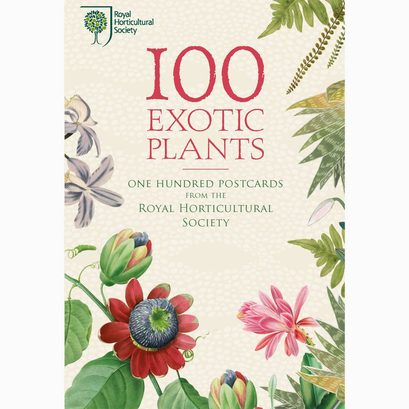 100 Exotic Plants - Boxed Set Of 100 Postcards