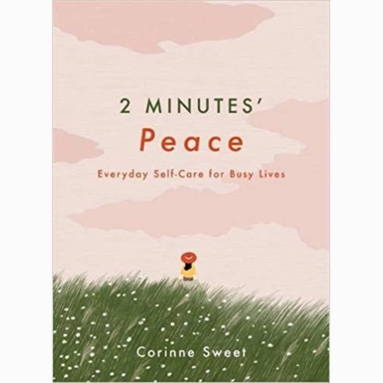2 Minutes Peace - Hardback Book