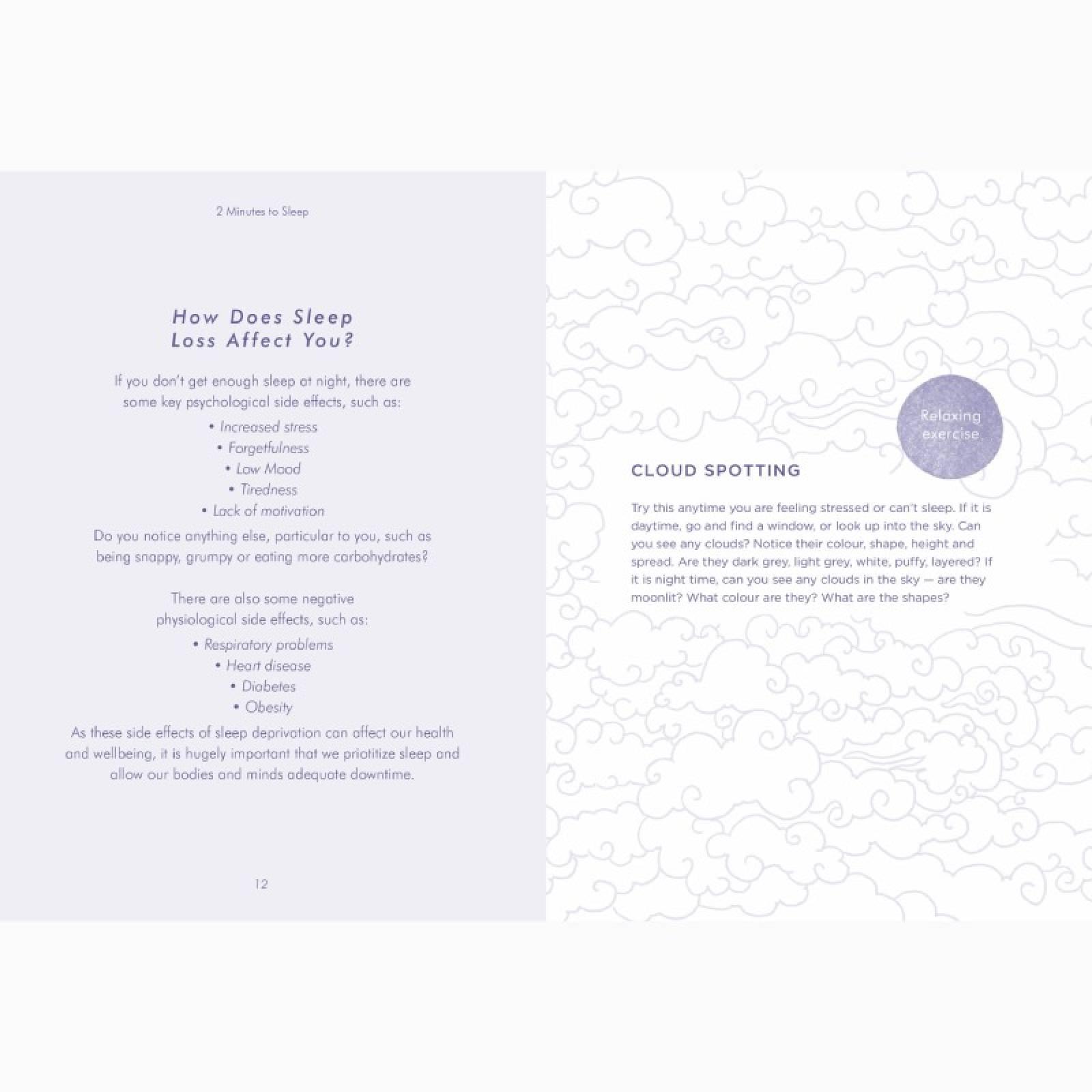 2 Minutes To Sleep - Hardback Book thumbnails