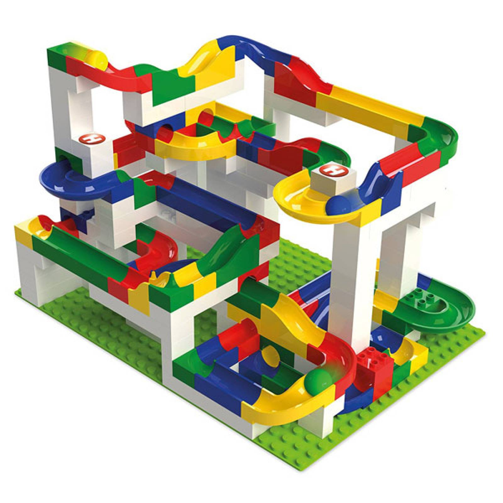 Hubelino 200pc Marble Run Construction Set  4+ thumbnails