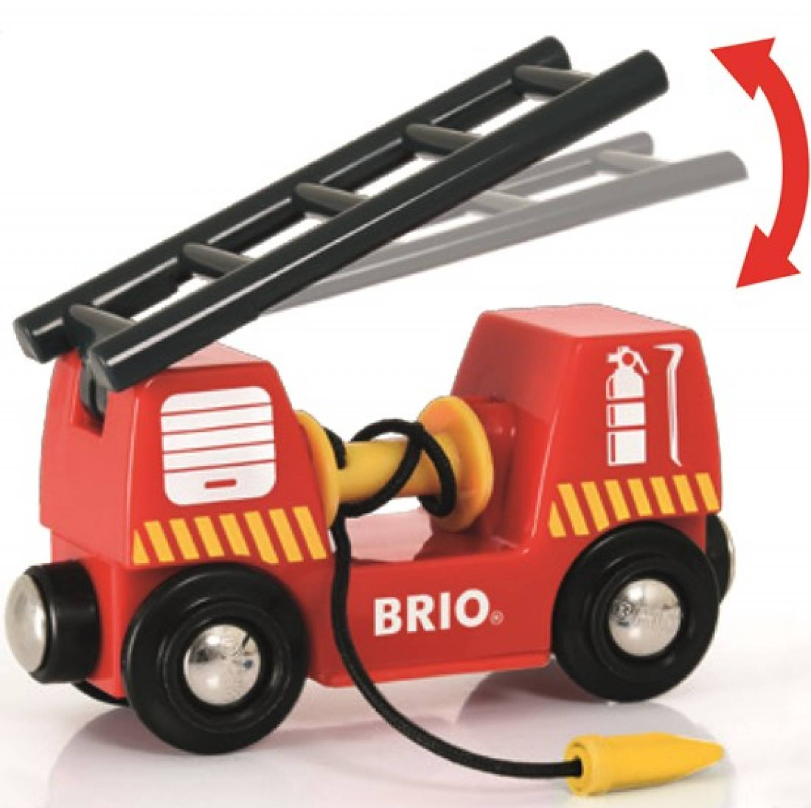 Emergency Fire Engine BRIO Wooden Railway Age 3+ thumbnails