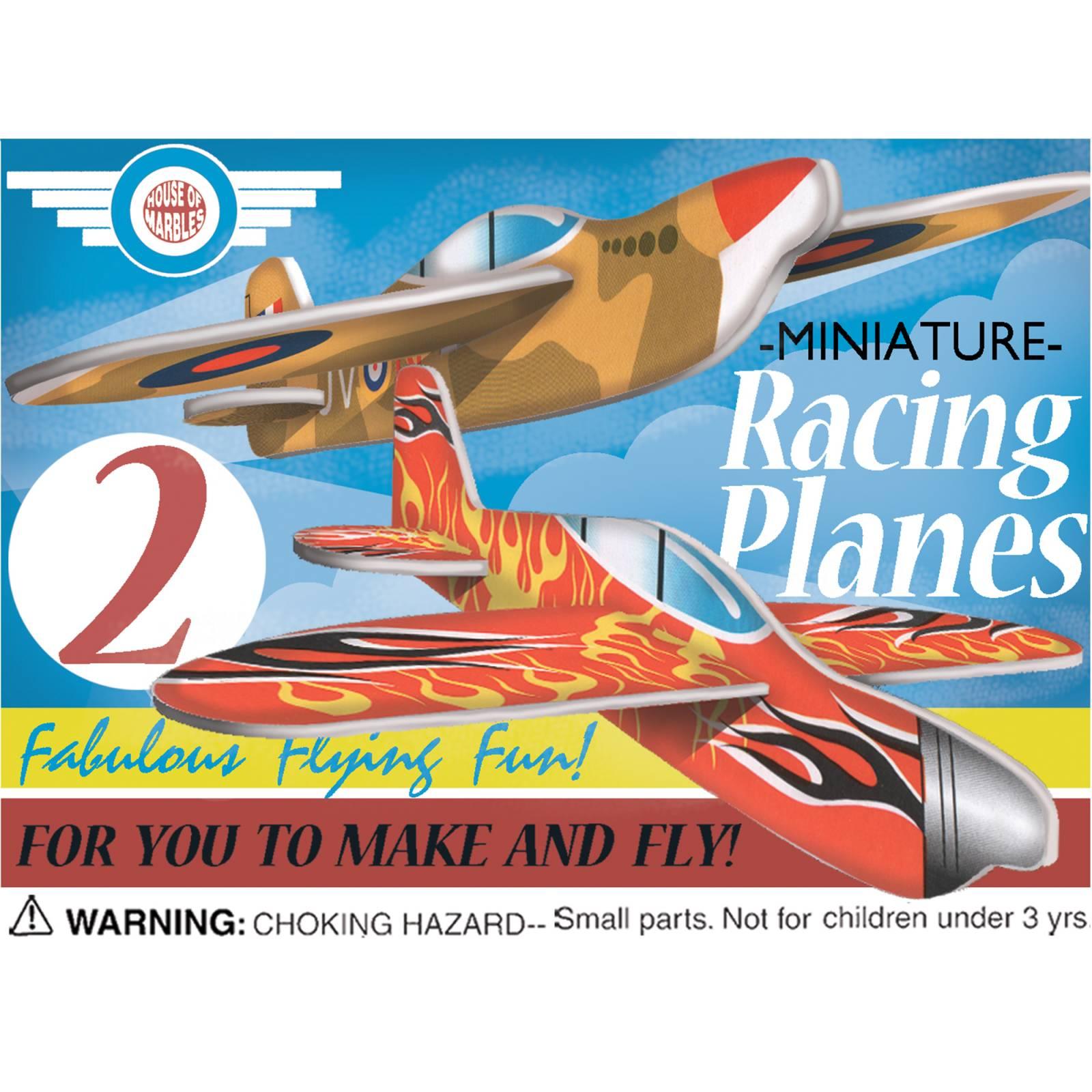 Racing Planes To Make and Fly