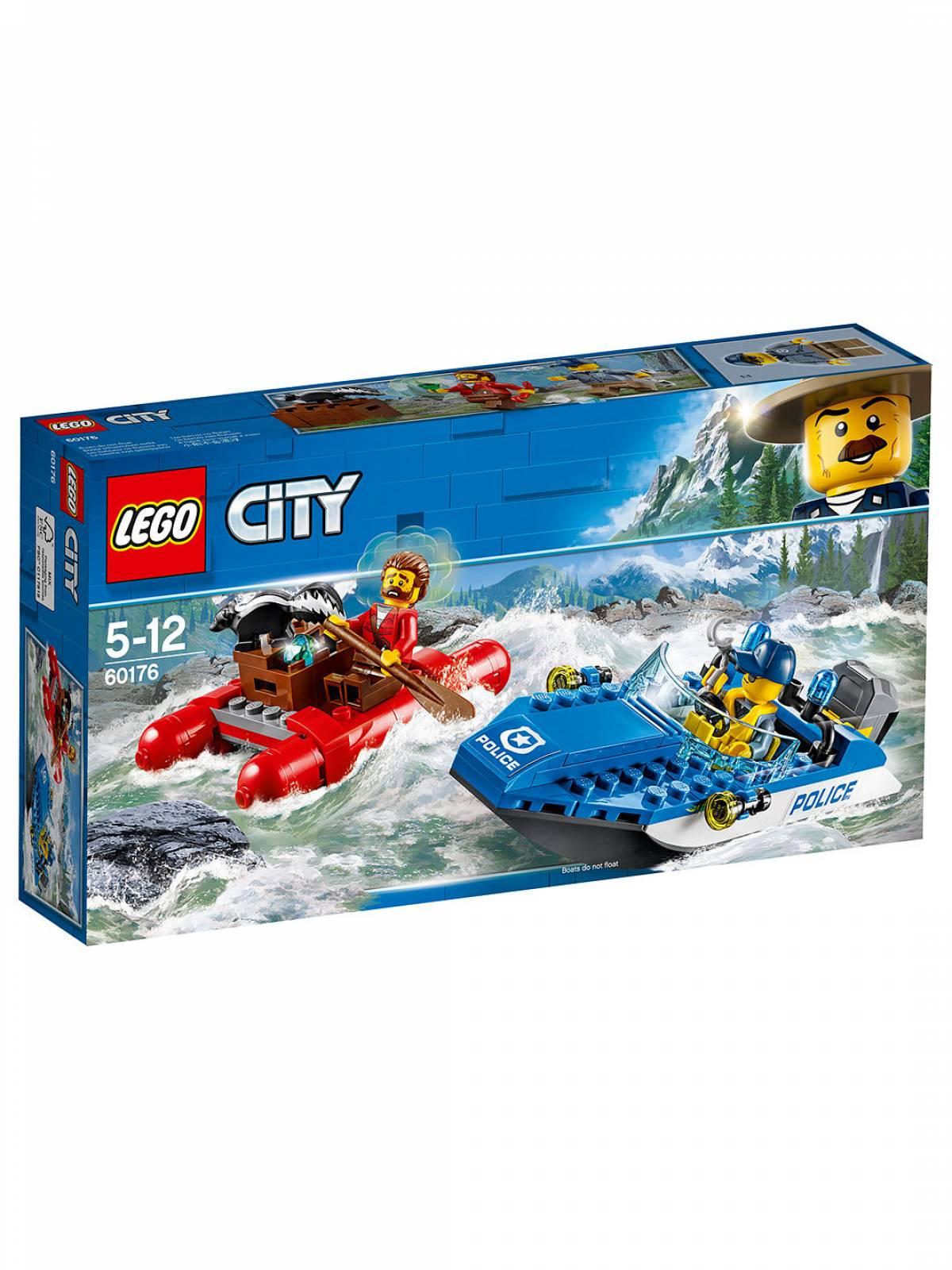 LEGO® City Wild River Escape 60176