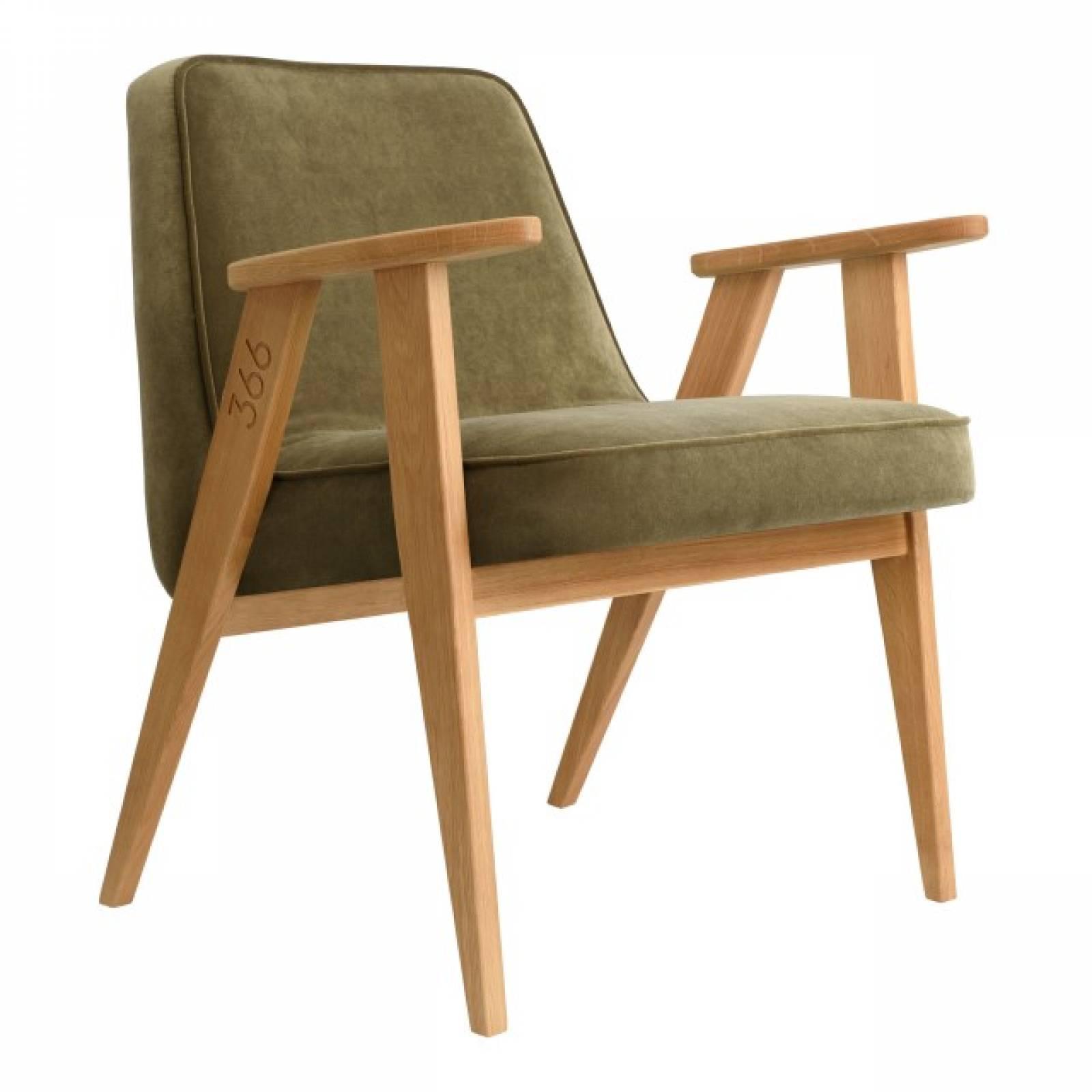 366 Armchair - Velvet Fabrics thumbnails