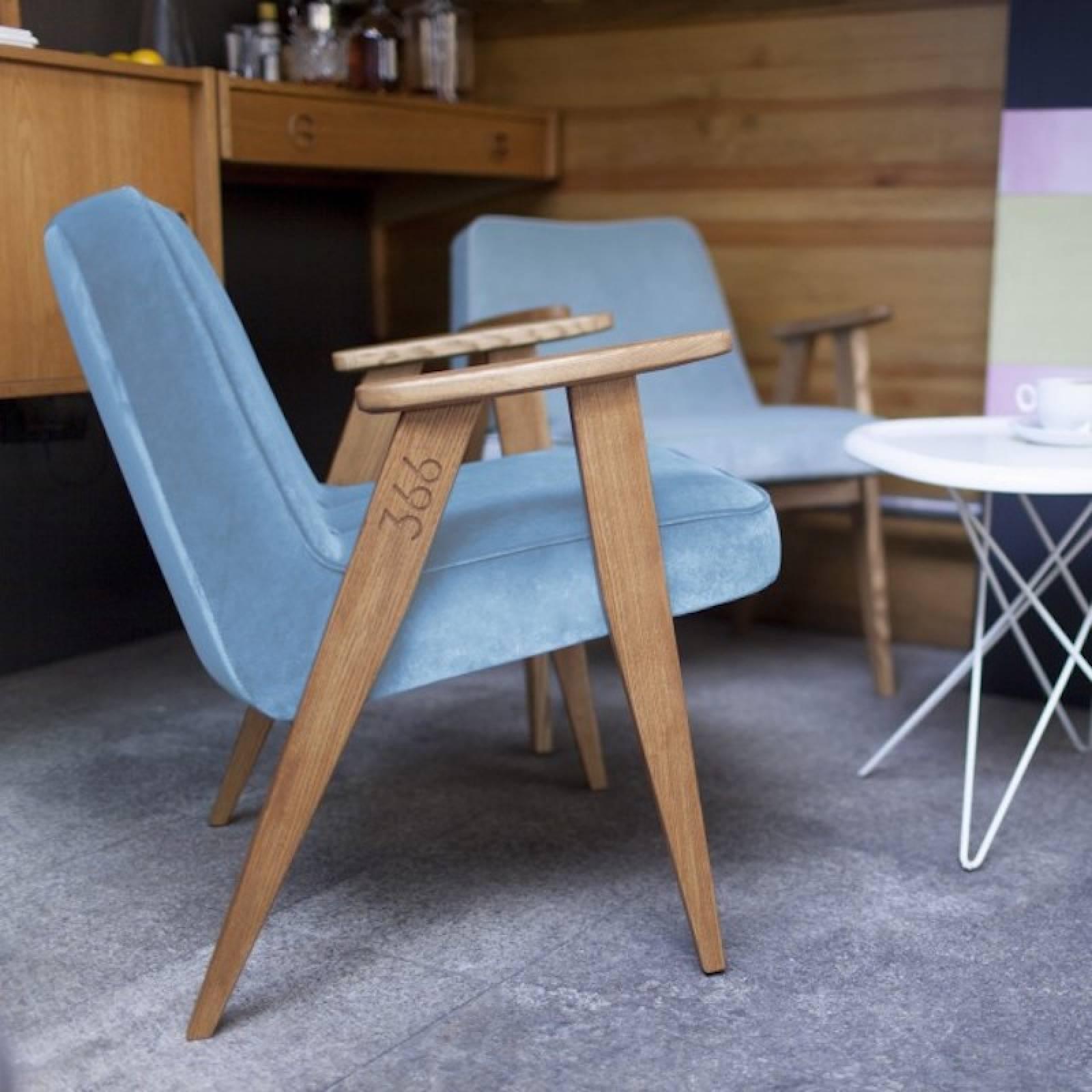 366 Armchair - Shine Velvet Fabrics