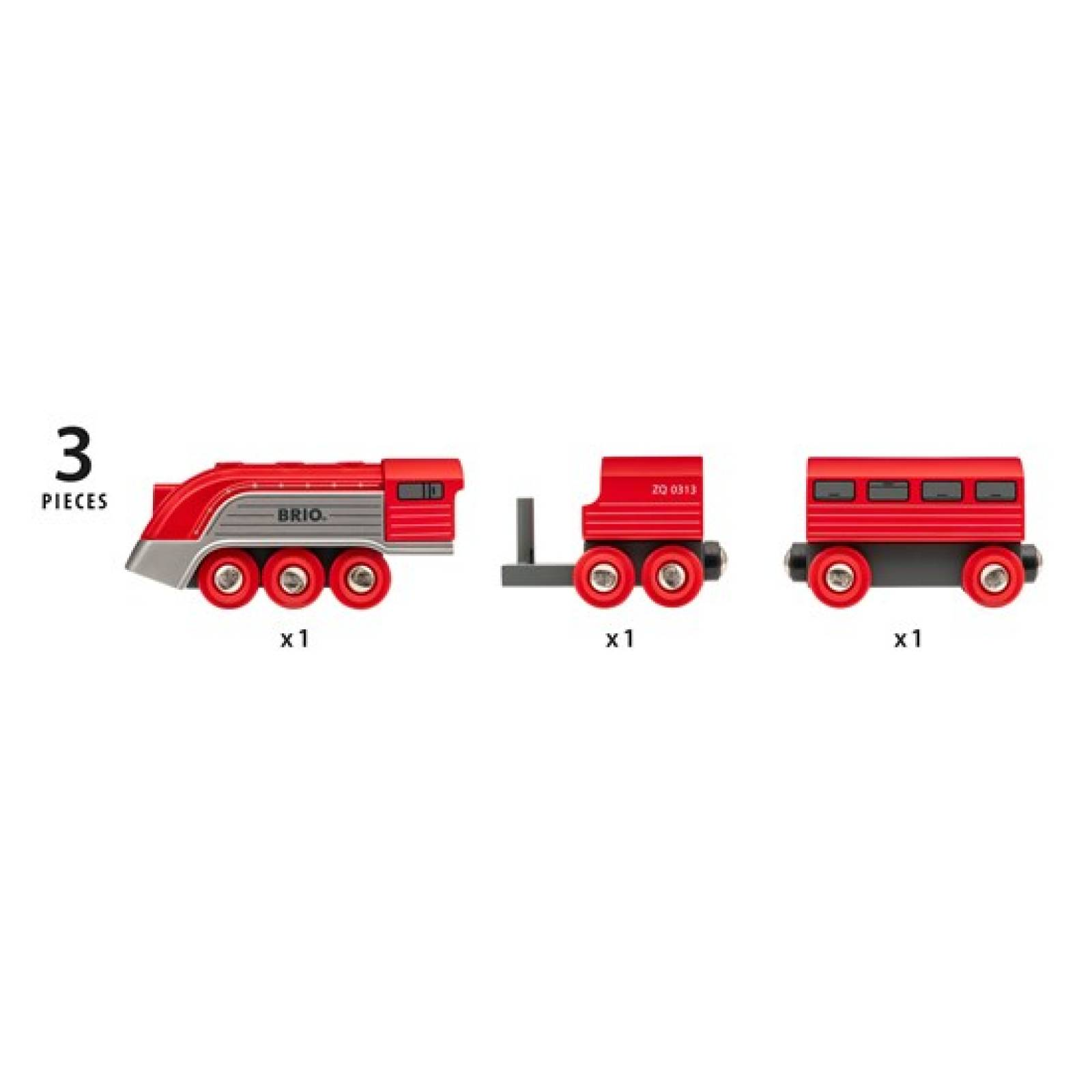Streamline Train BRIO Wooden Railway Age 3+ thumbnails