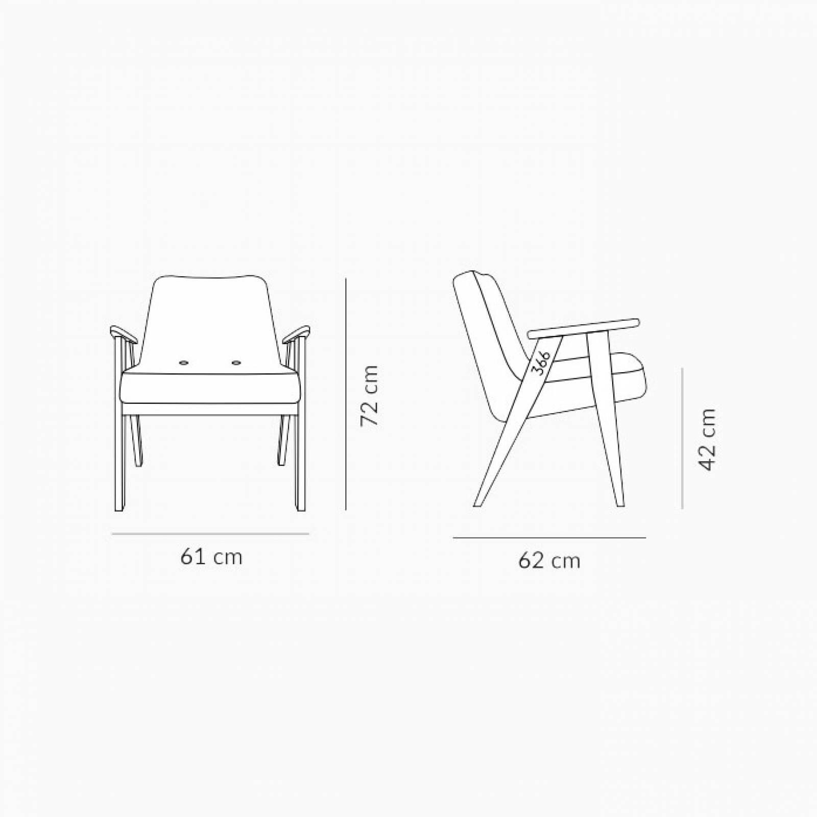 366 Armchair - Denim Fabrics thumbnails