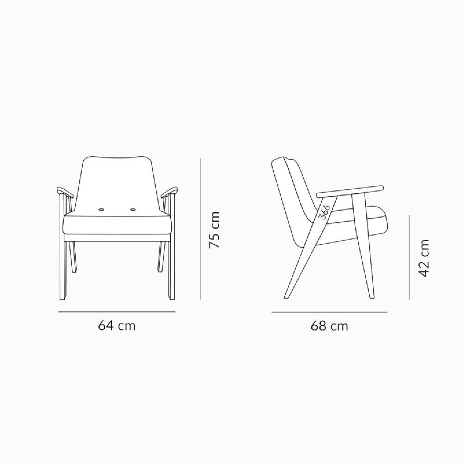 366 Plus Armchair - Shine Velvet Fabrics thumbnails