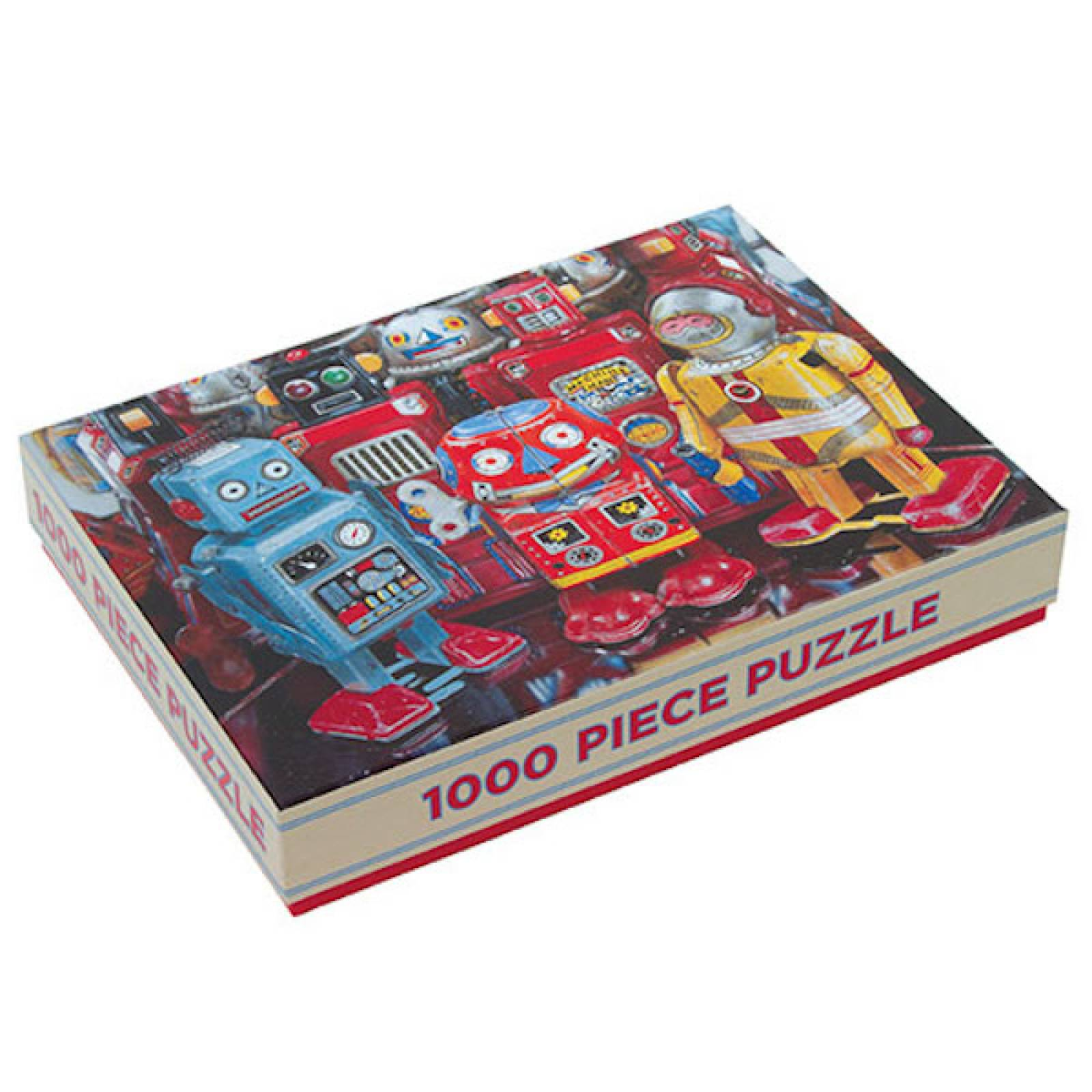 ROBOT EXPLORERS 1000 Piece Puzzle By Galison
