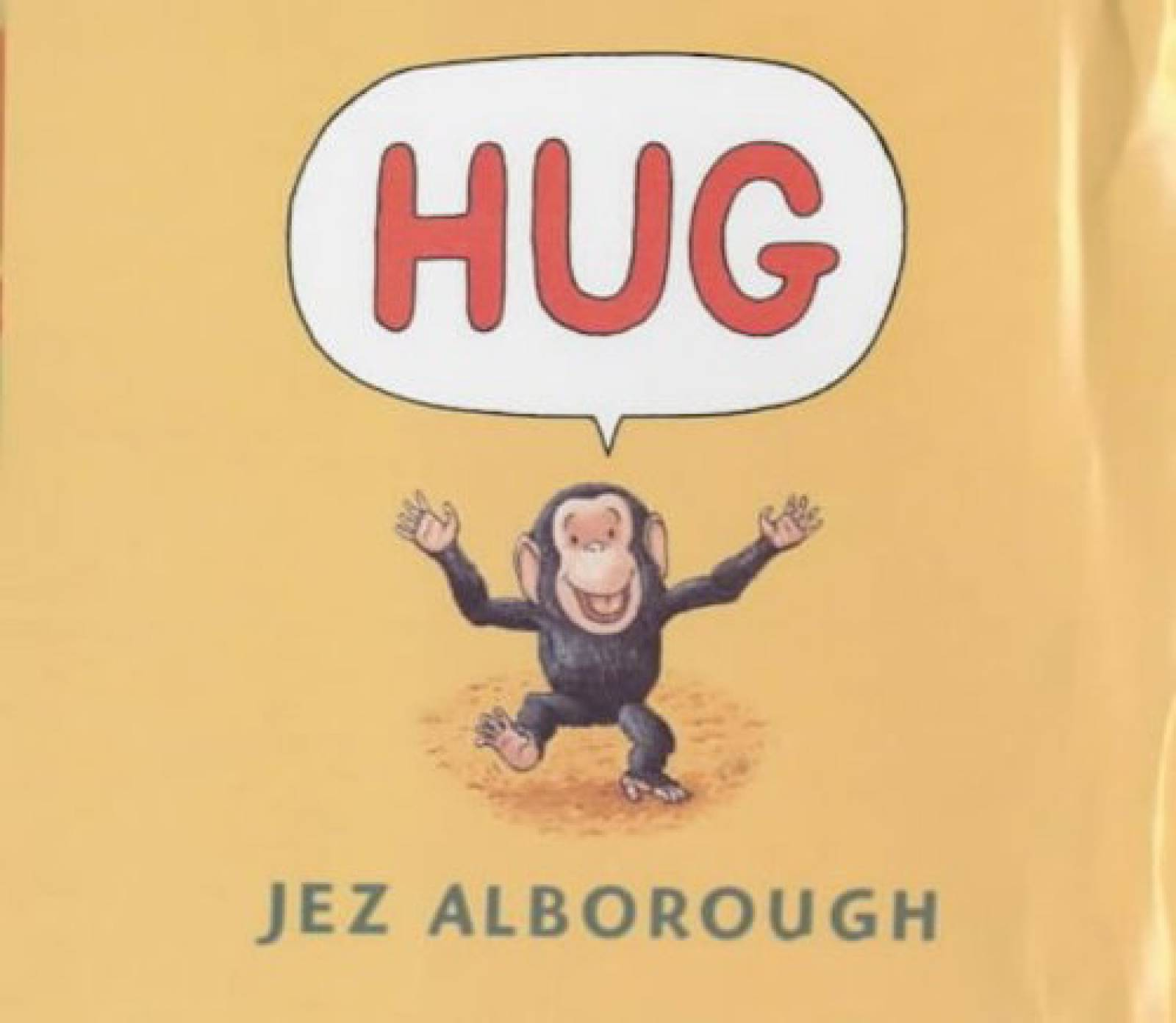 Hug Board Book By Jez Alborough