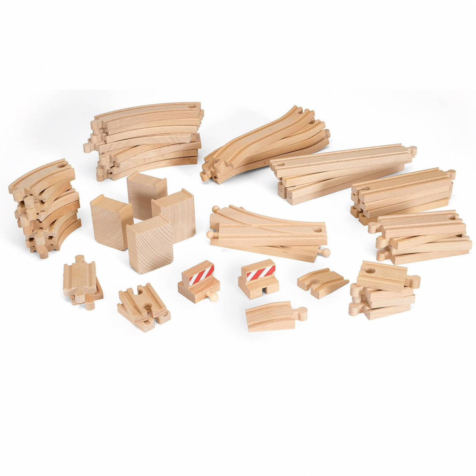 50 Piece Expansion Track BRIO Wooden Railway thumbnails