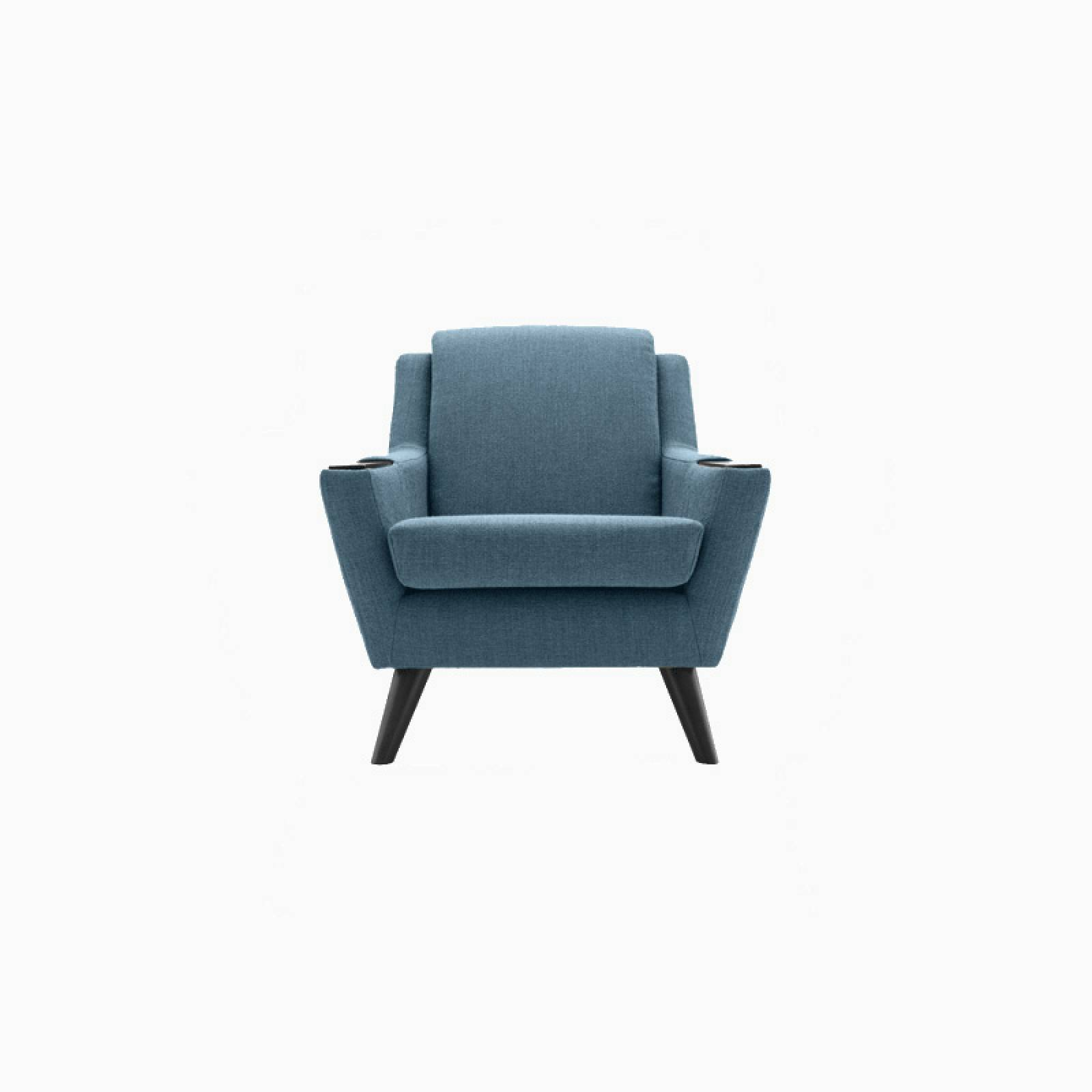 In Stock - G Plan Vintage The Fifty Five Armchair Festival Teal