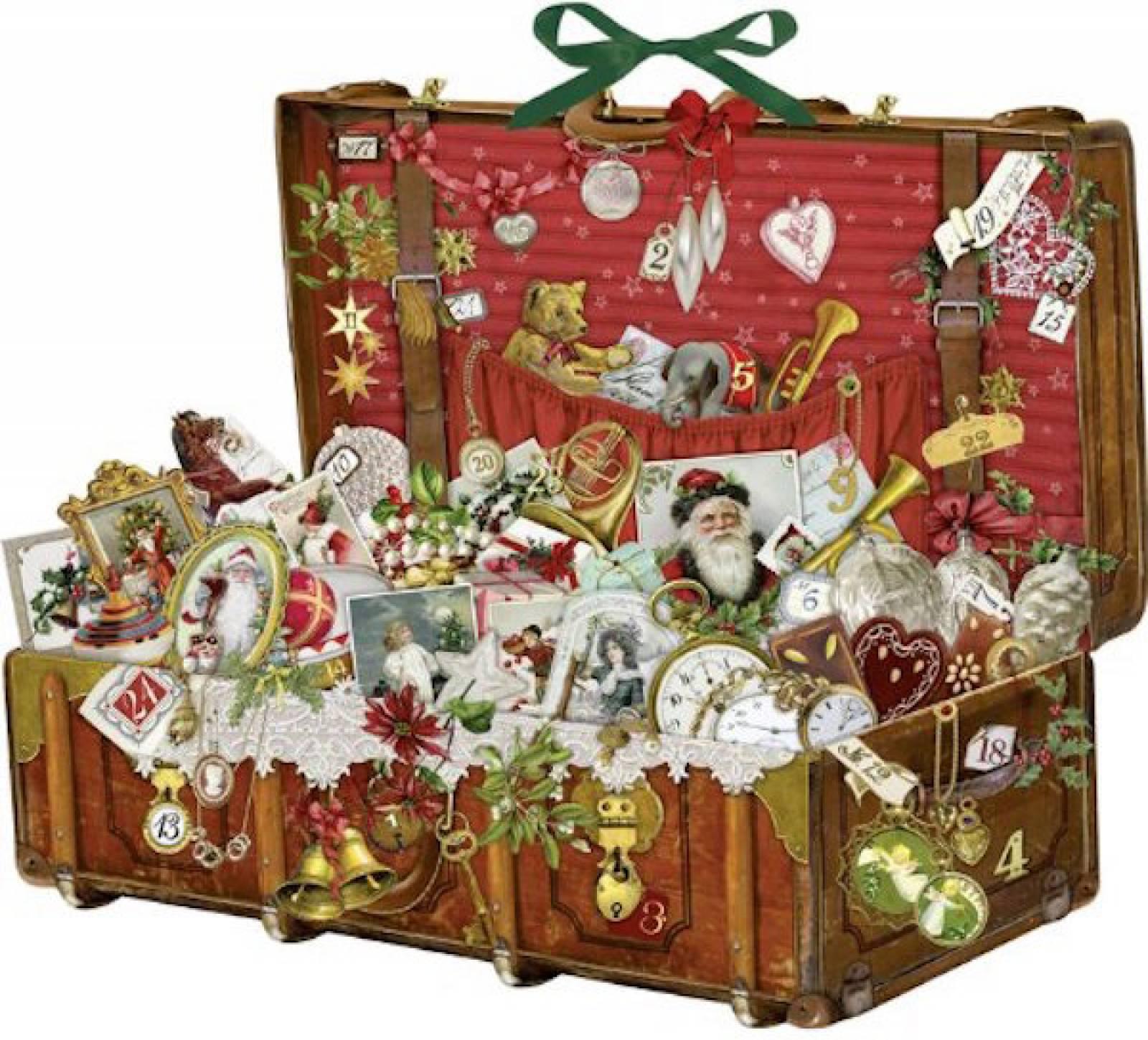 Nostalgic Christmas Suitcase Advent Calendar