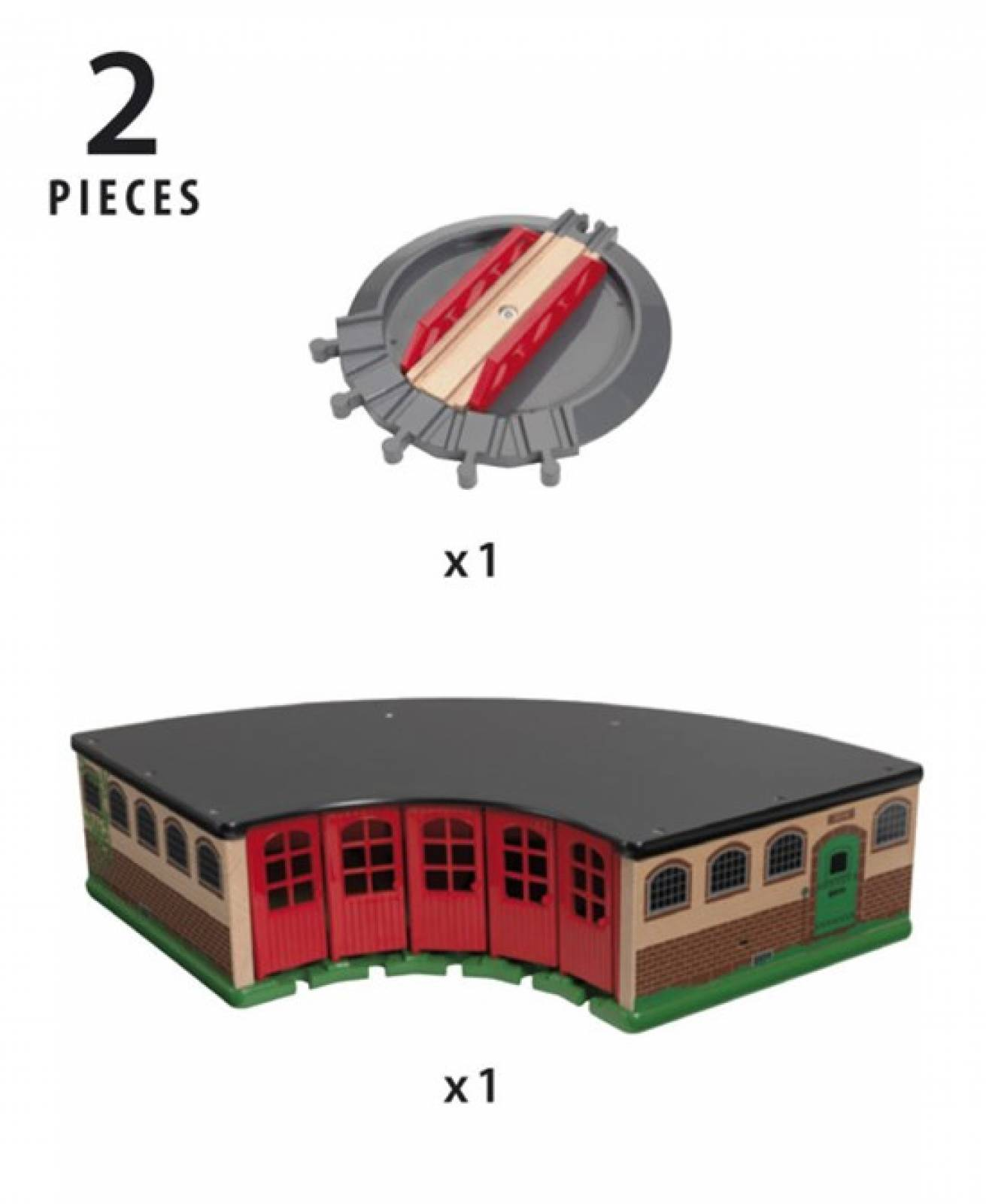 Grand Roundhouse BRIO® Wooden Railway Age 3+ thumbnails