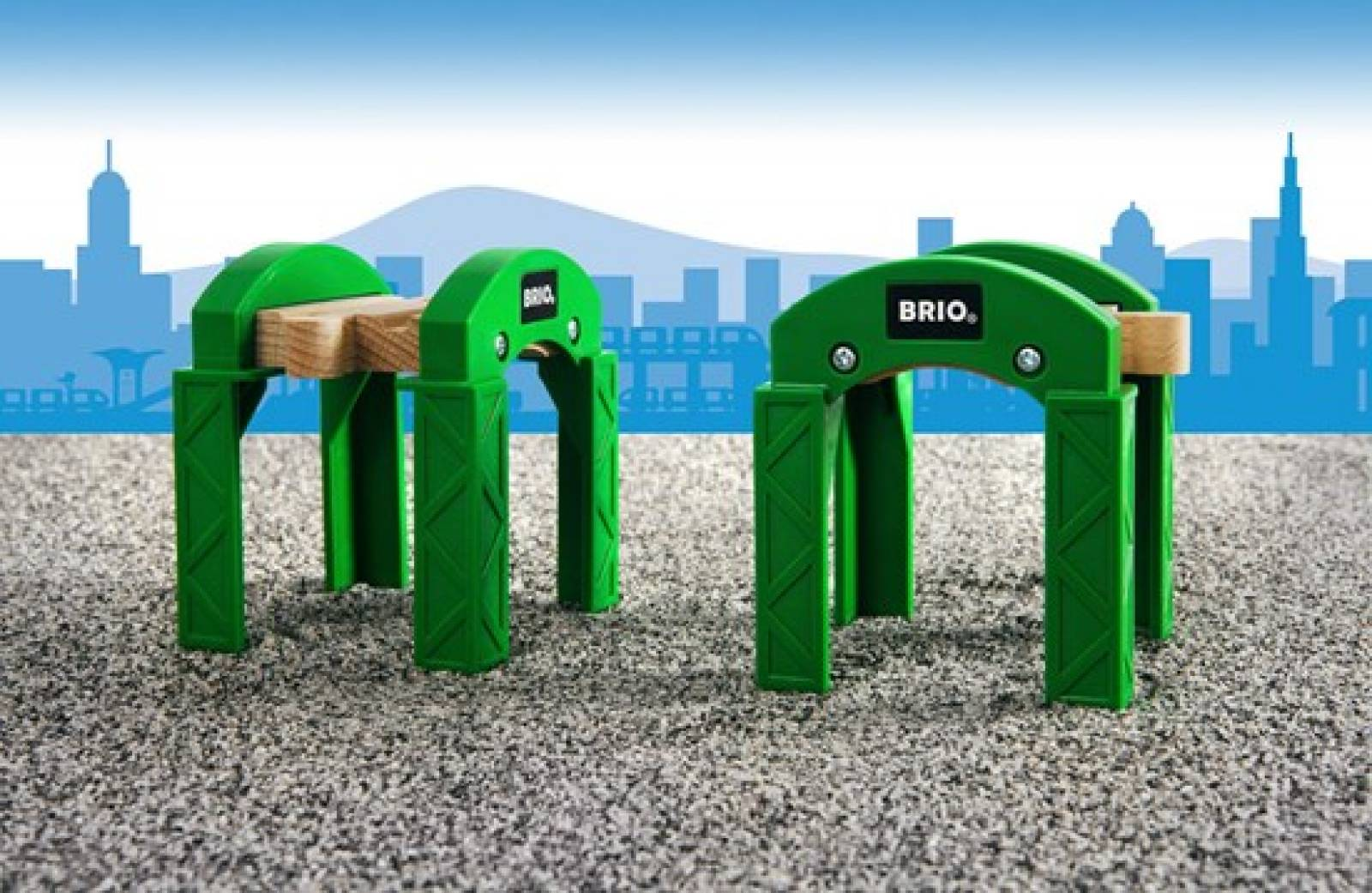 Stacking Track Support BRIO Wooden Railway Age 3+ thumbnails