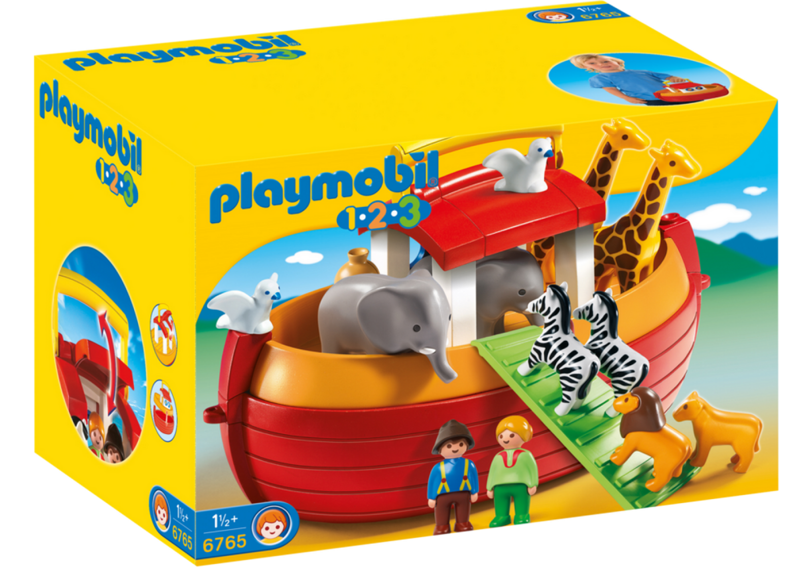 Playmobil 123 My Take Along Noah´s Ark 6765 thumbnails