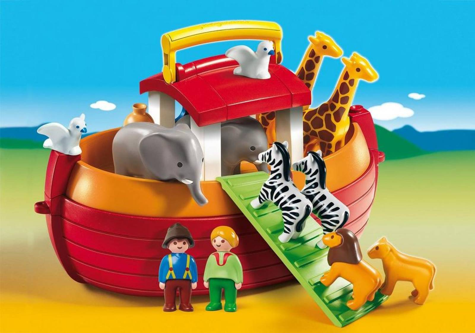 Playmobil 123 My Take Along Noah´s Ark 6765