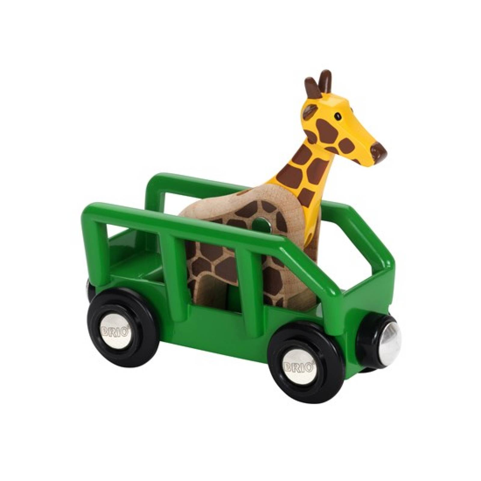 Giraffe and Wagon BRIO Wooden Railway Age 3+ thumbnails
