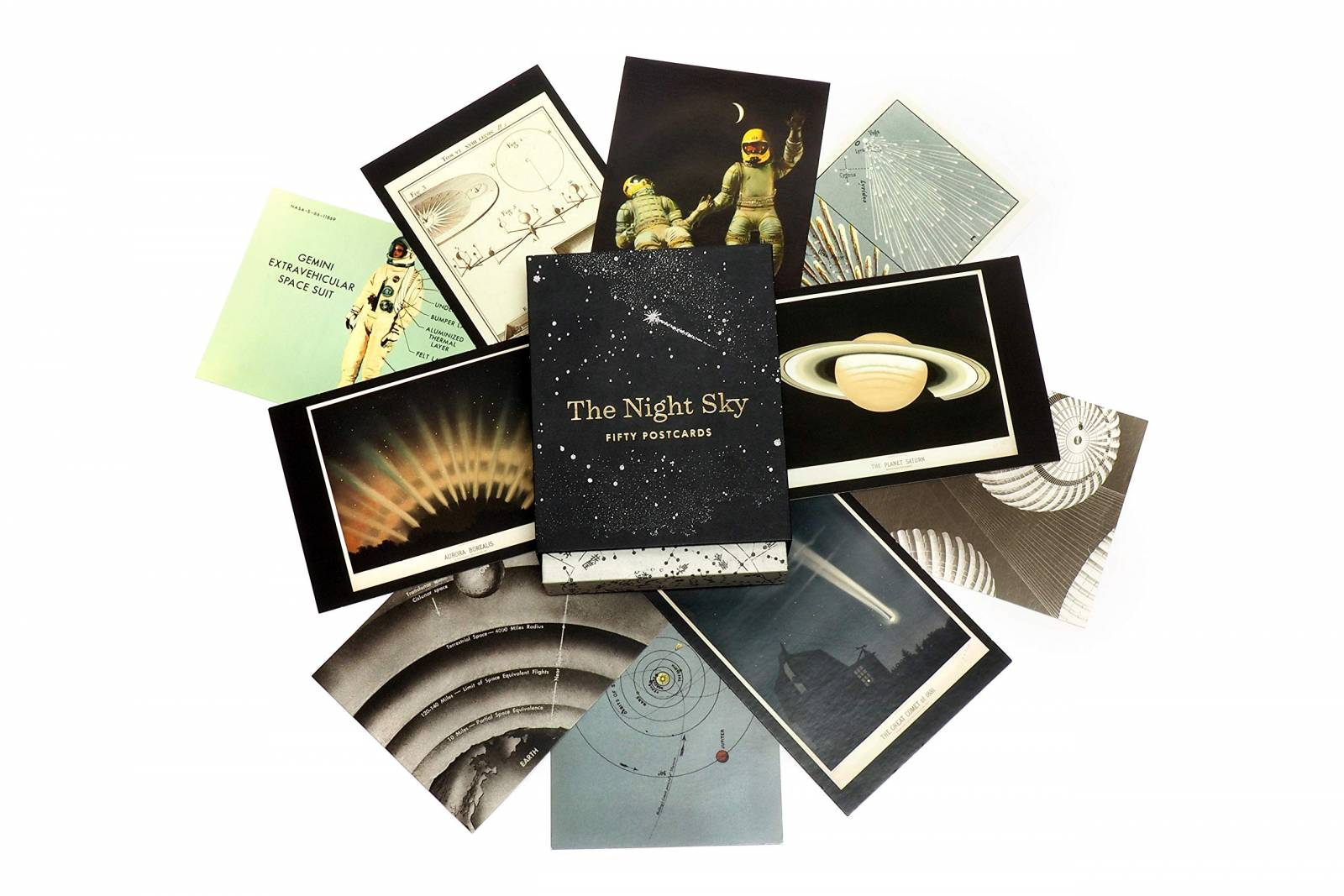 The Night Sky: Box Set Of 50 Postcards thumbnails