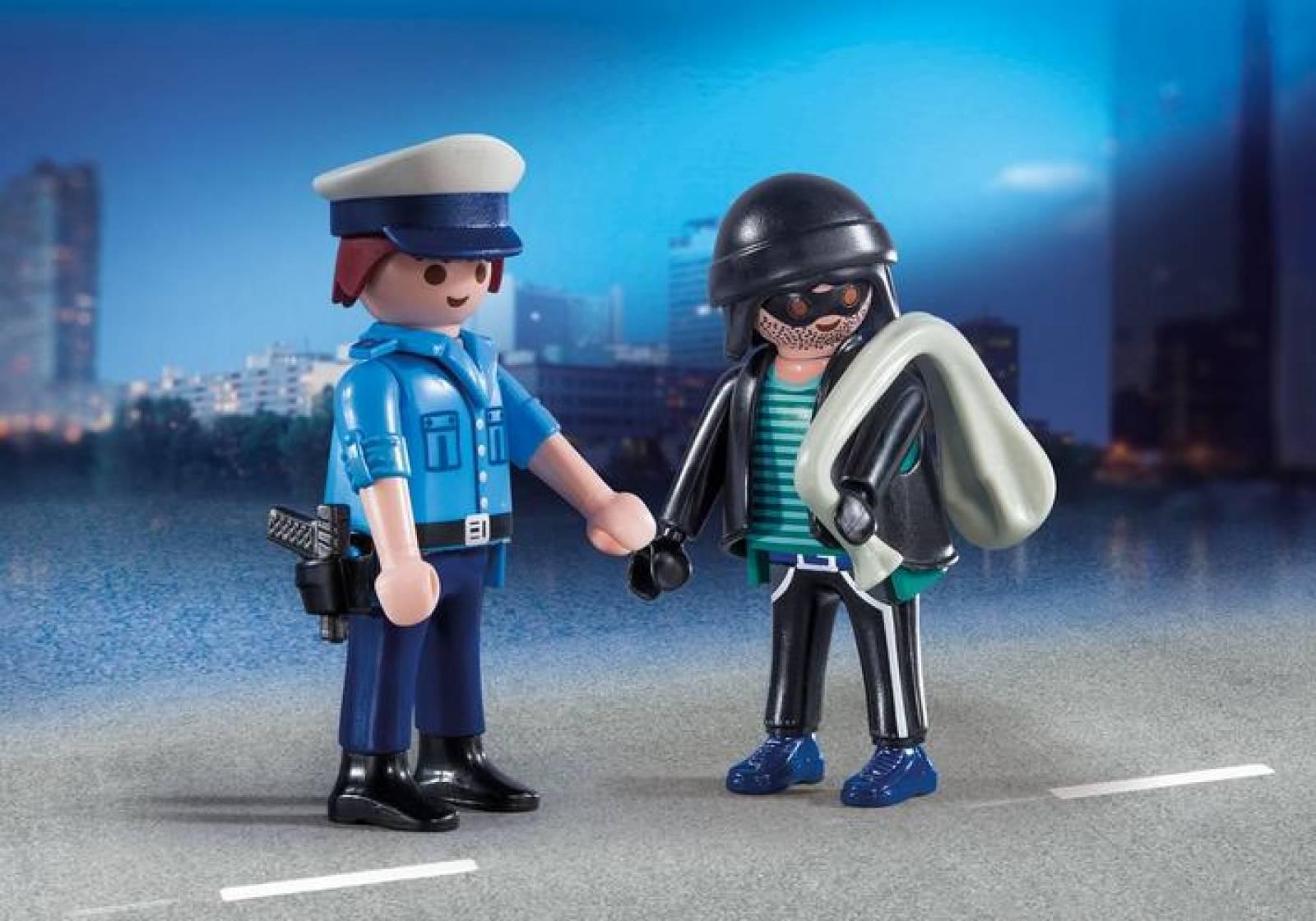 Policeman And Burglar Duo Pack Playmobil 9218 thumbnails