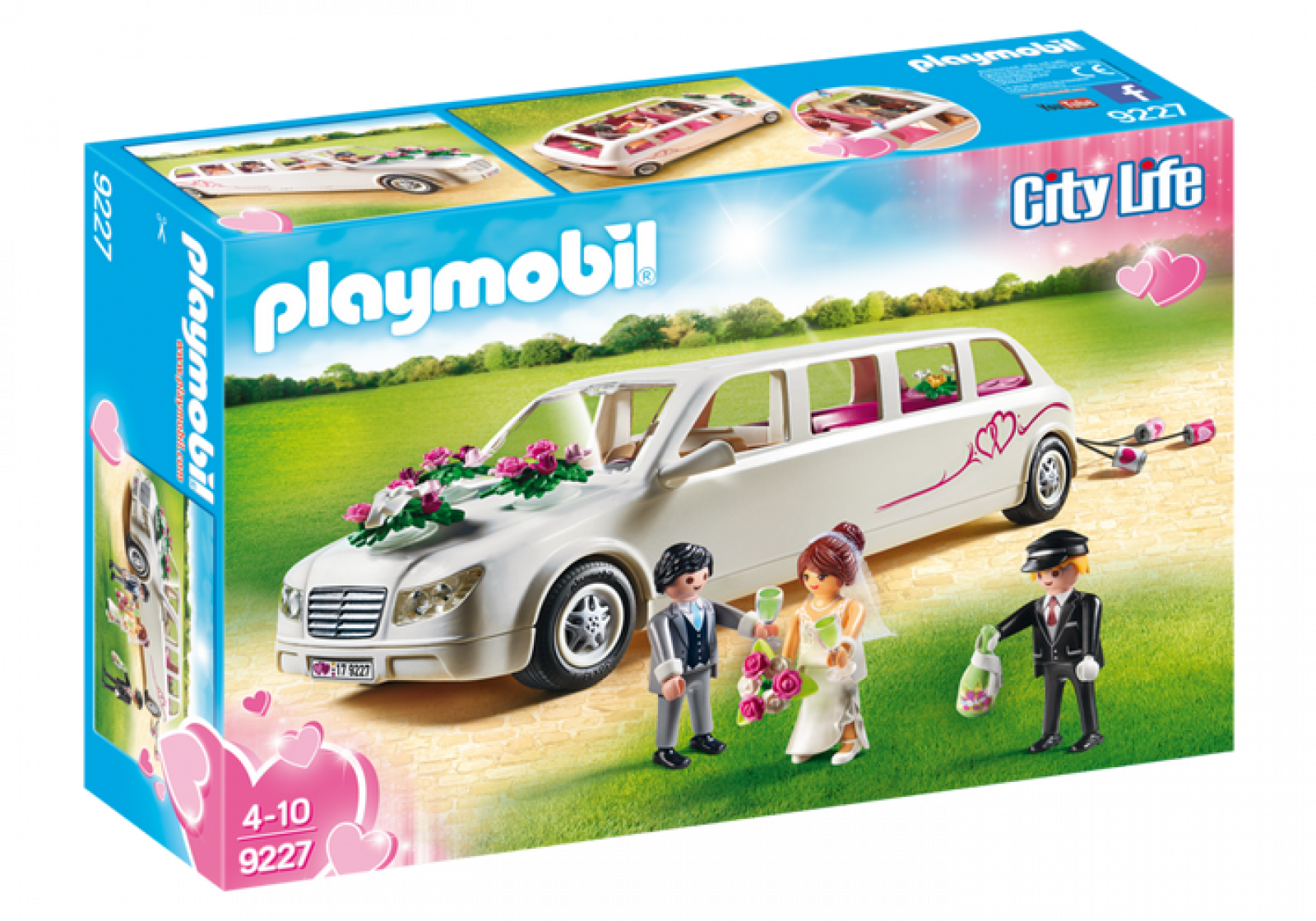 Wedding Limo Playmobil 9227