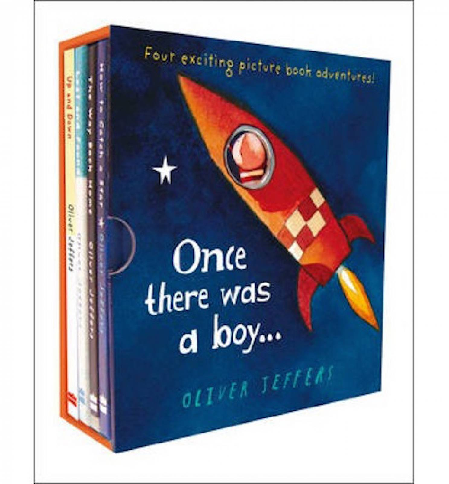 Once There Was A Boy... Hardback Gift Set By Oliver Jeffers