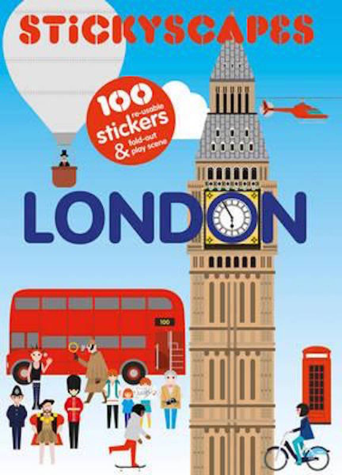Stickyscapes: London Sticker Book