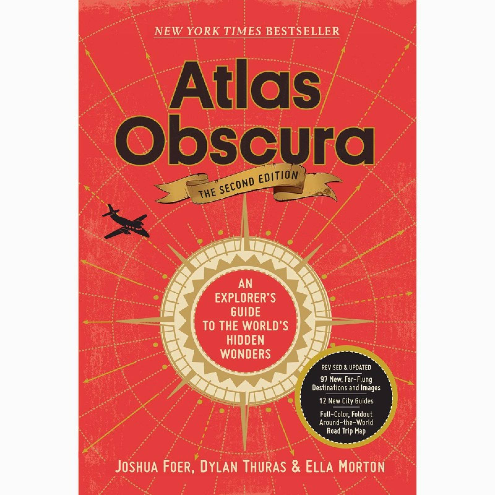 Atlas Obscura - Hardback Book (2nd edition) thumbnails