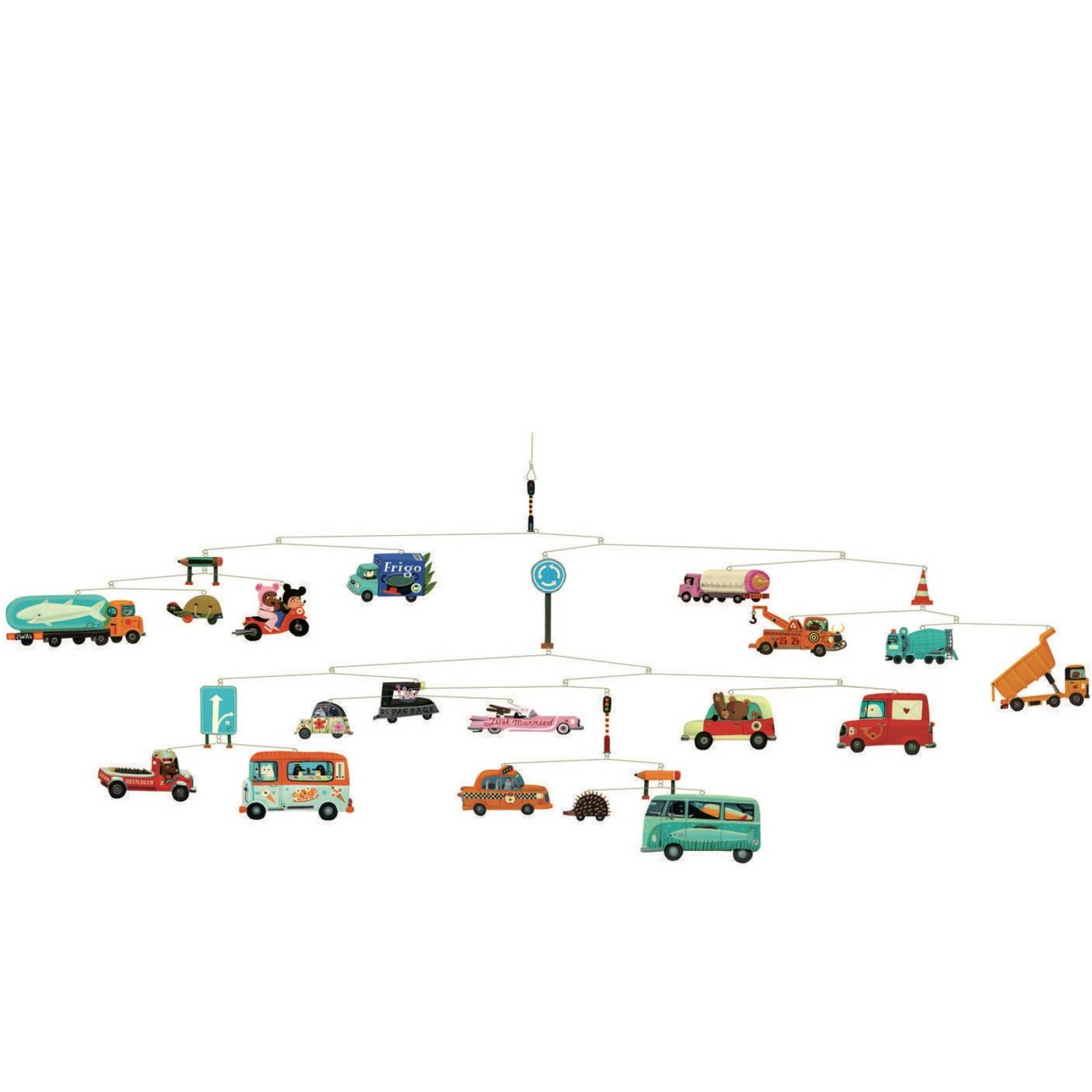 Automobiles Mobile by Djeco thumbnails