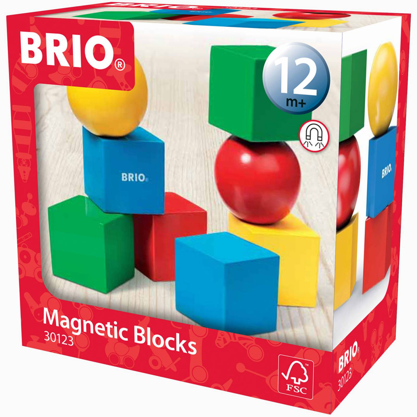 Magnetic Blocks By BRIO 1+ thumbnails