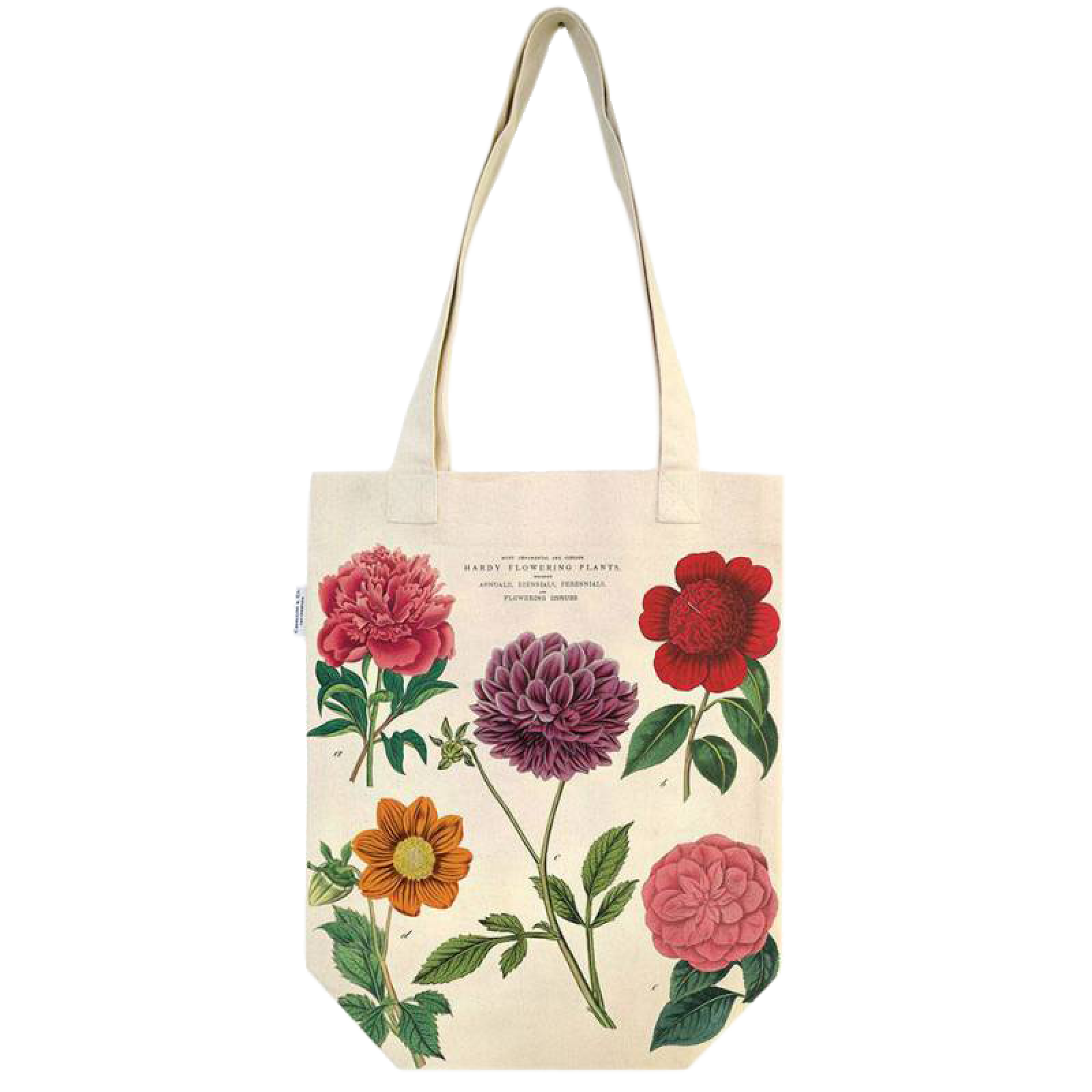 Botanica Flowers Cotton Tote Bag thumbnails