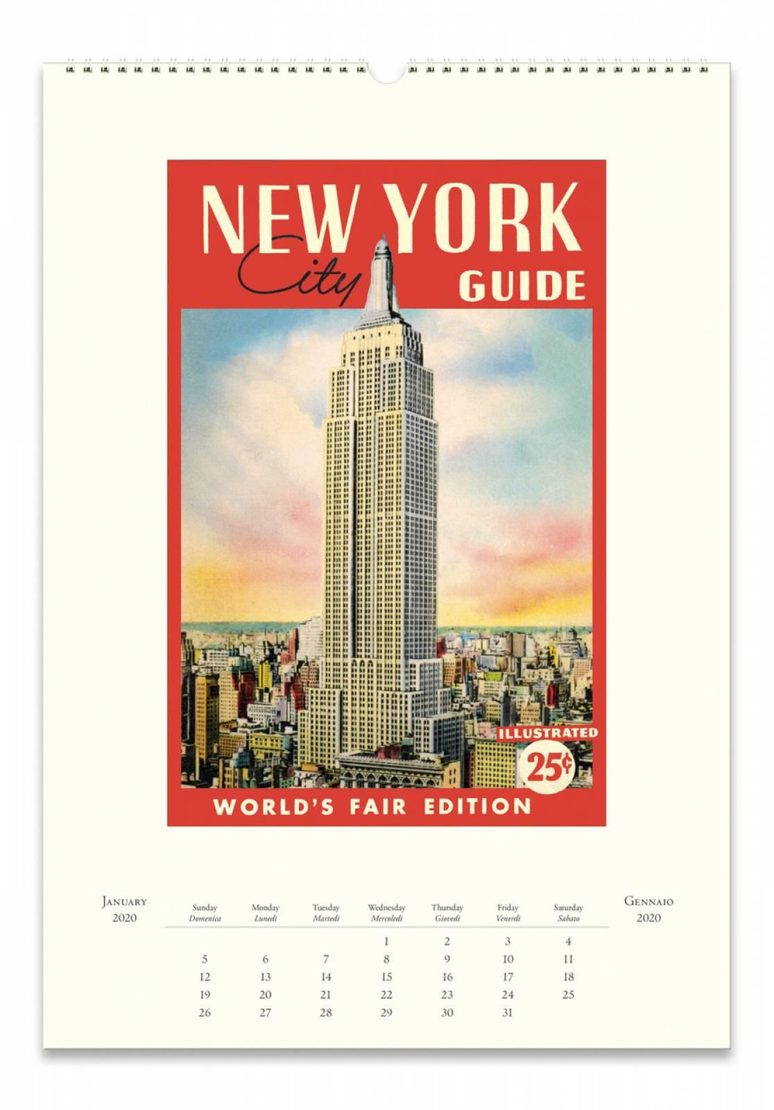 New York Wall Calendar by Cavallini thumbnails