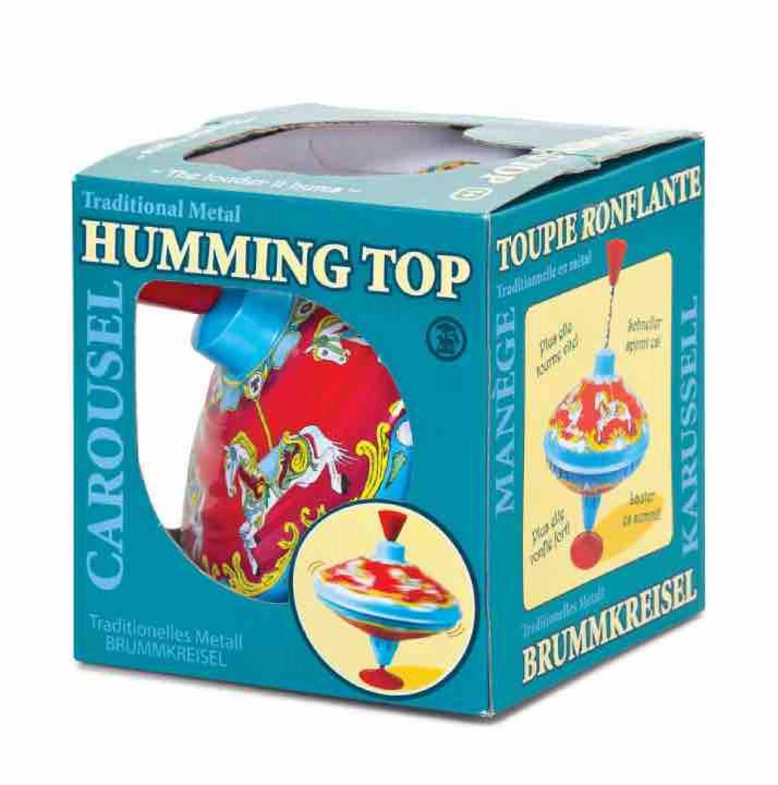 Carousel Metal Humming Top 1+ thumbnails