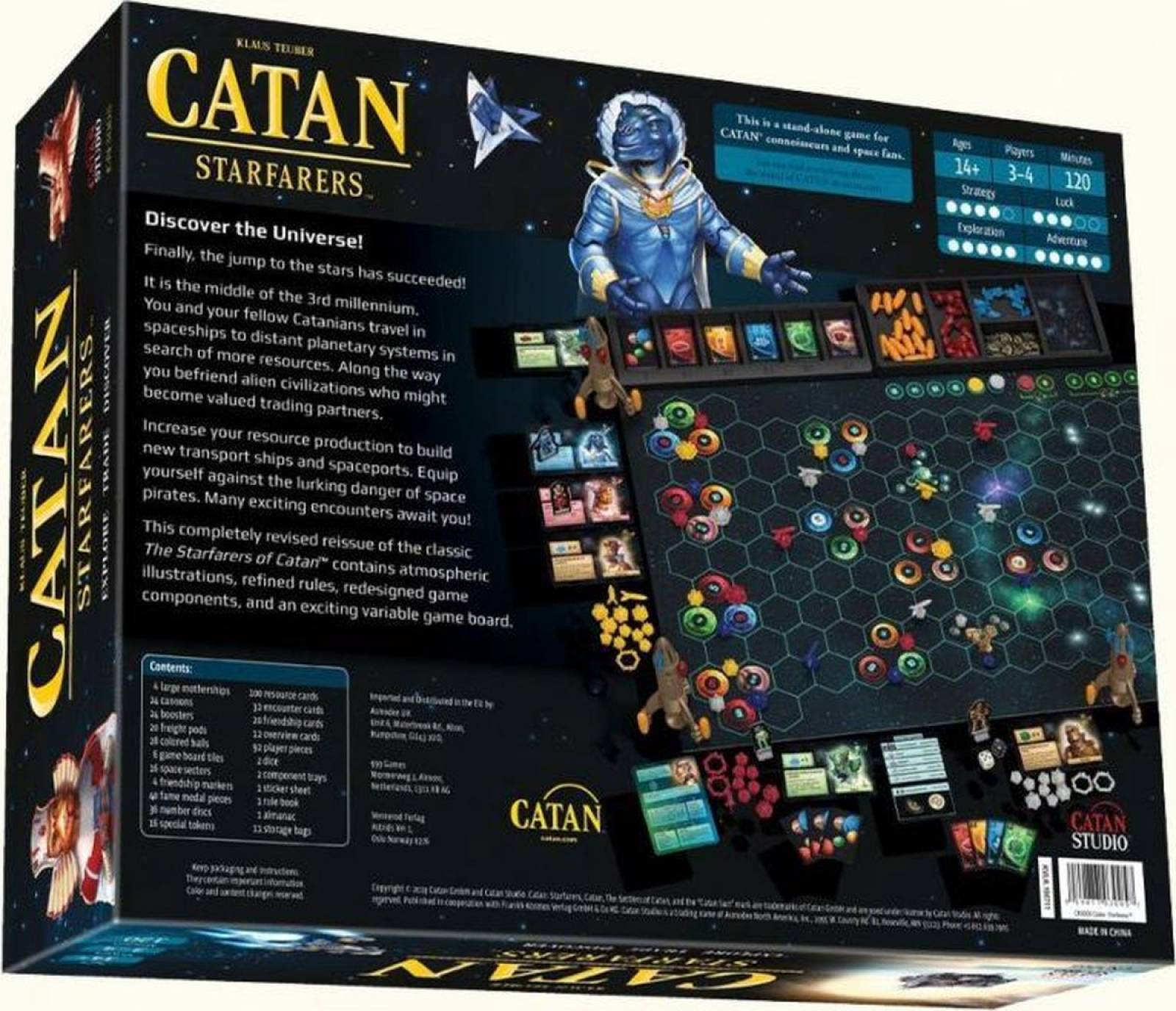 Catan: Starfarers Board Game 14+ thumbnails