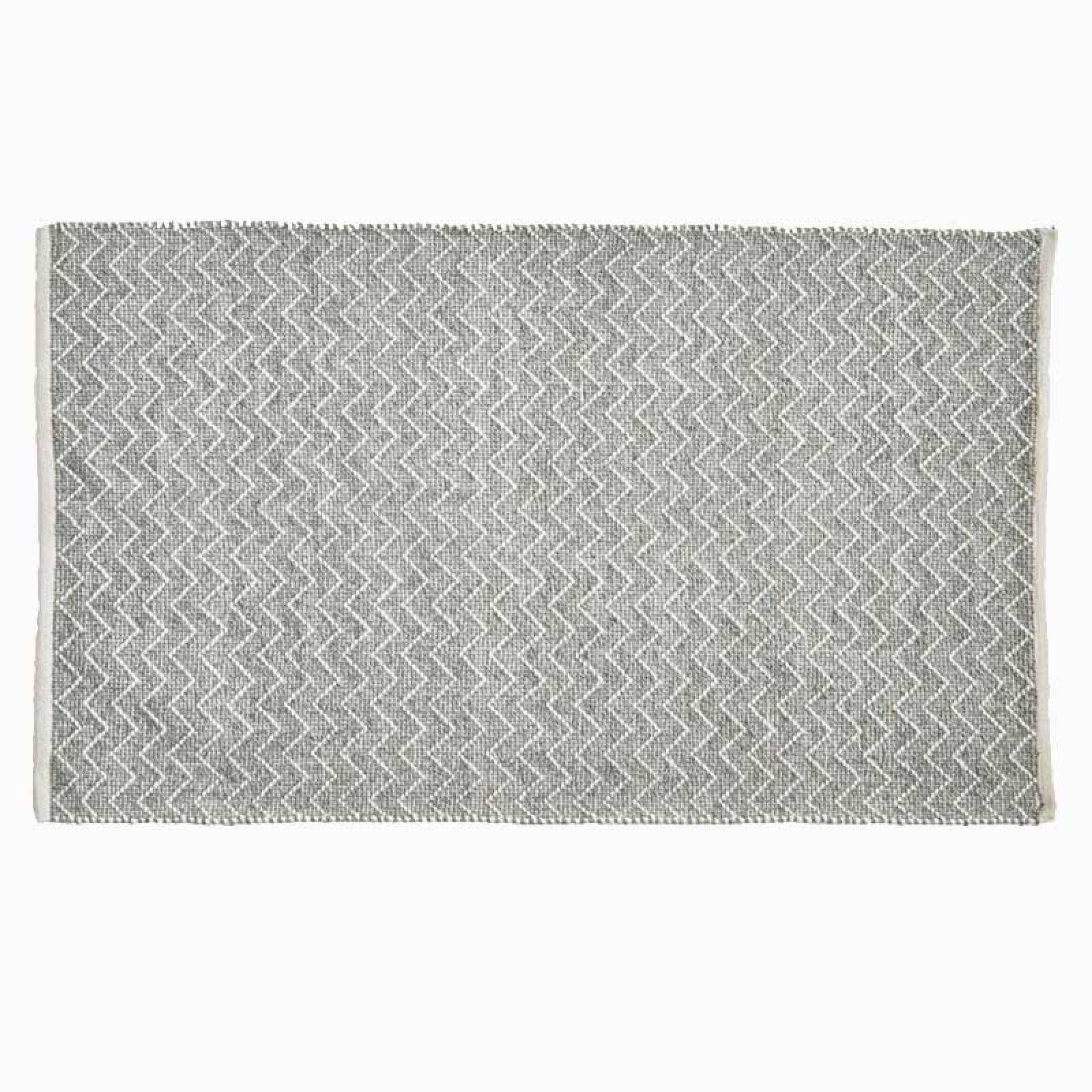 Chenille Dove Grey 240 x 70cm Recycled Bottle Rug thumbnails
