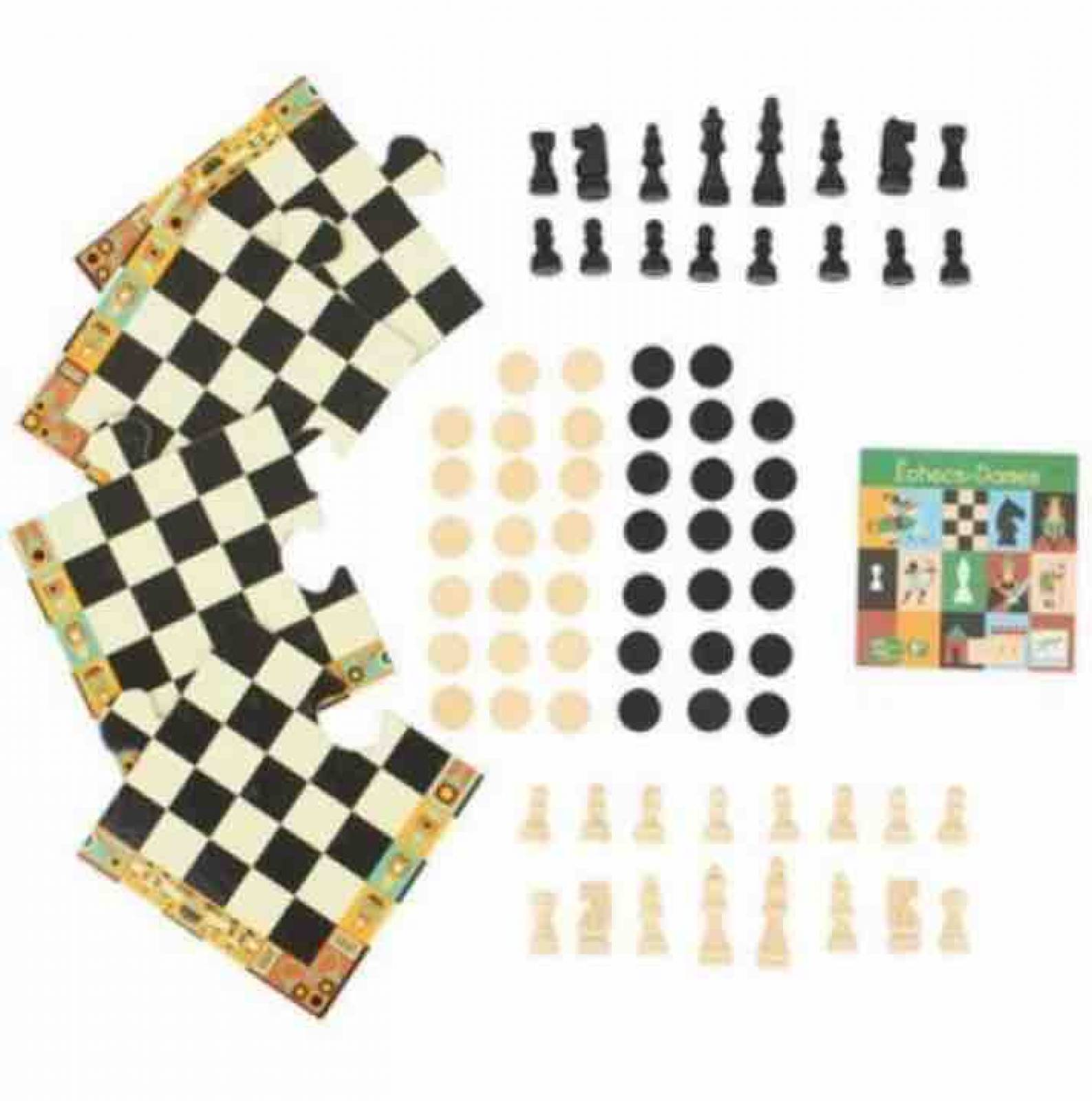 Chess And Draughts Game By Djeco thumbnails