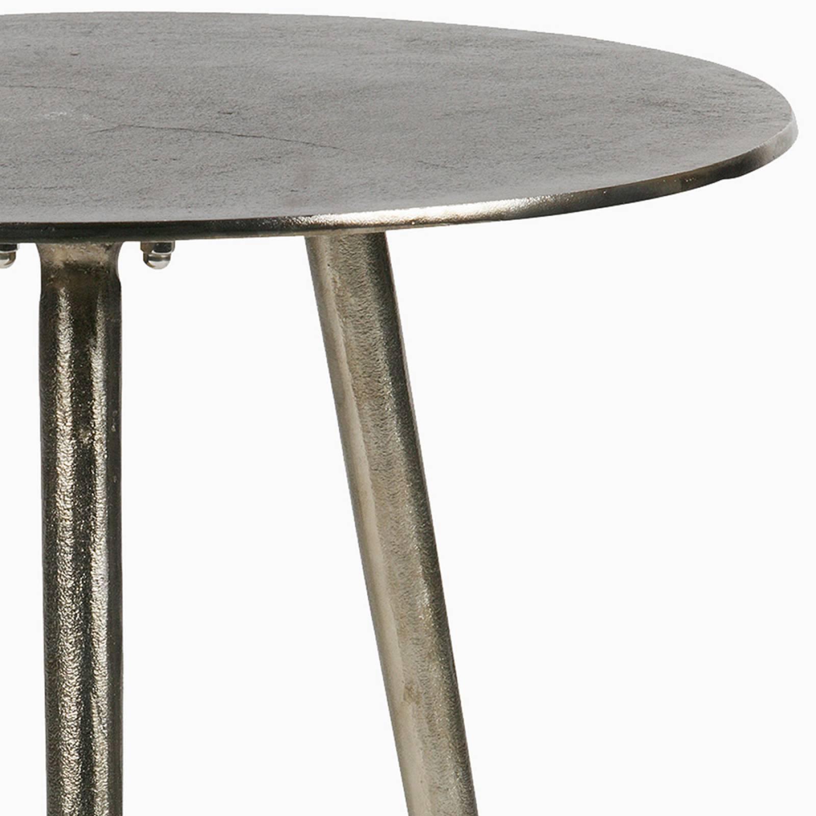 Circular Burnished Gold Side Table thumbnails