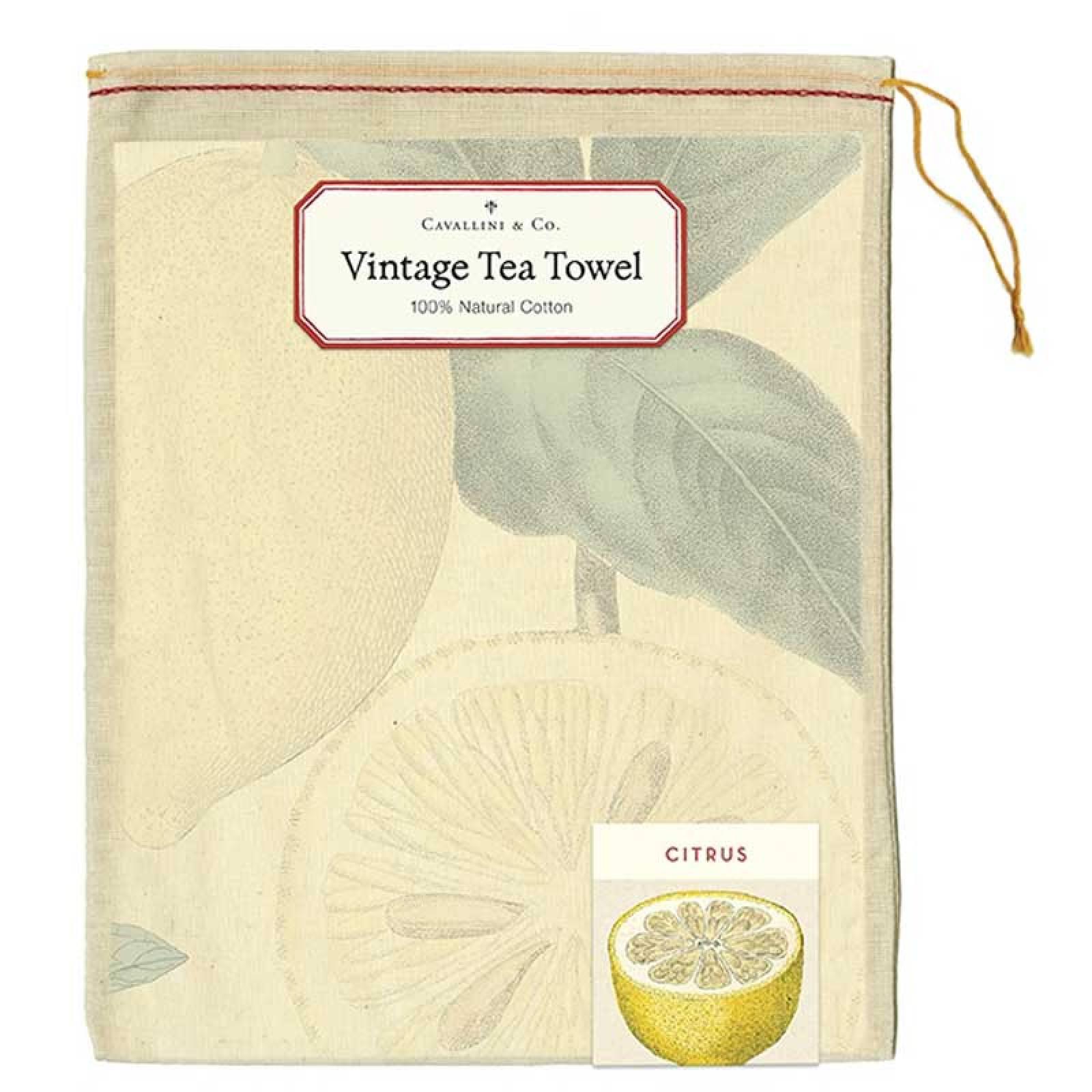Citrus Tea Towel With Gift Bag thumbnails
