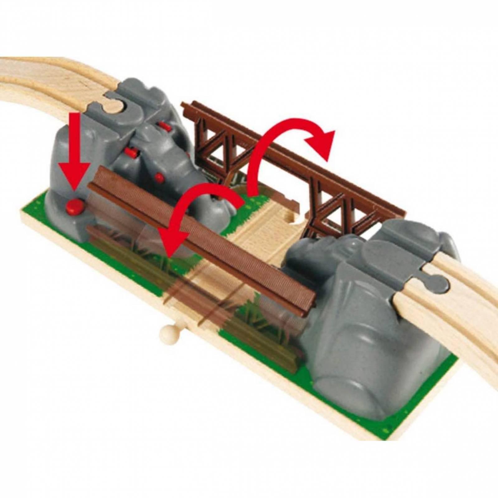 Collapsing Bridge for Railway BRIO Wooden Railway 3+ thumbnails