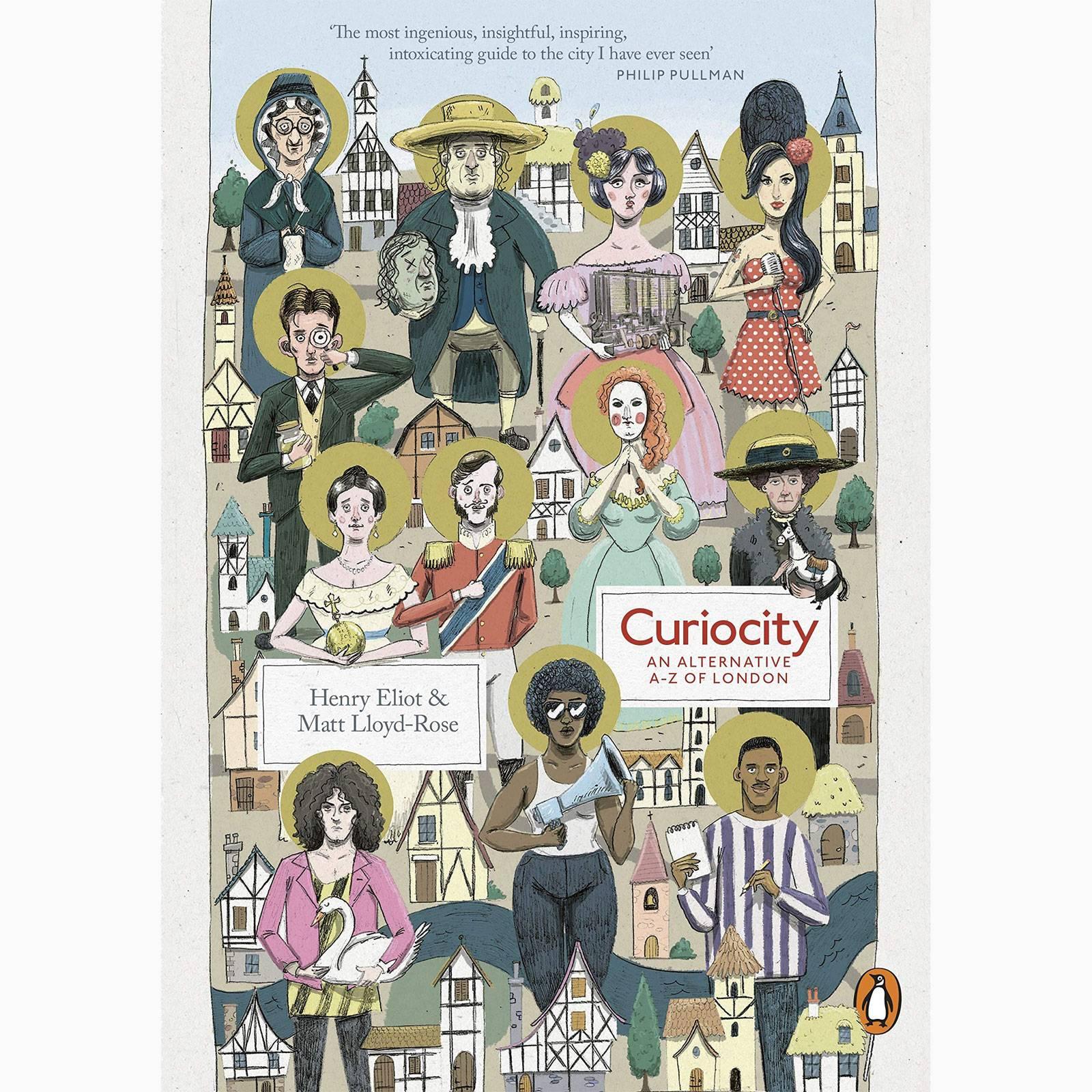 Curiocity: An Alternative A To Z - Paperback Book