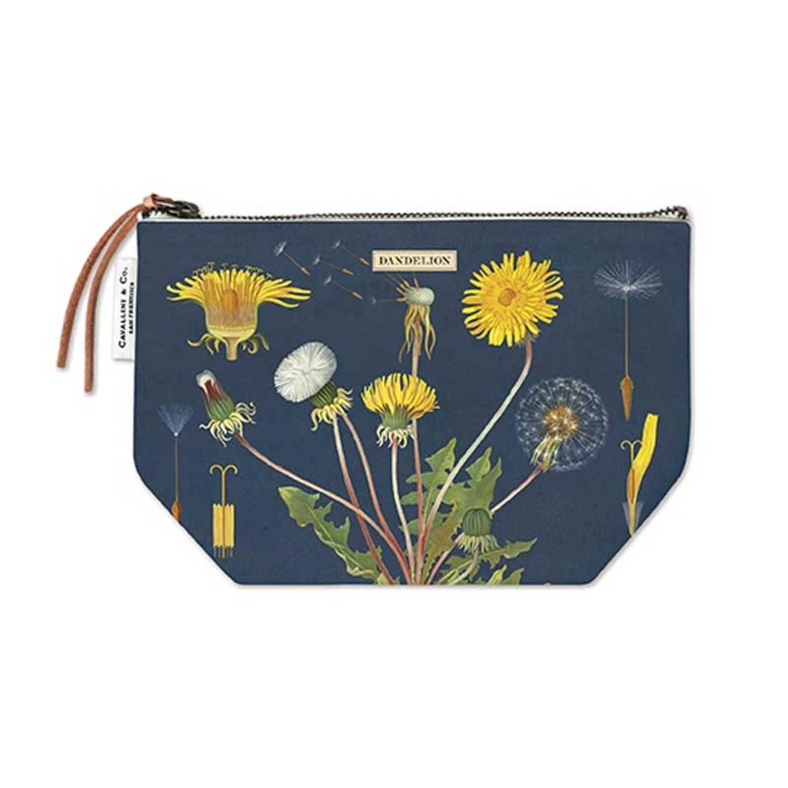Dandelion Cotton Pouch Bag By Cavallini