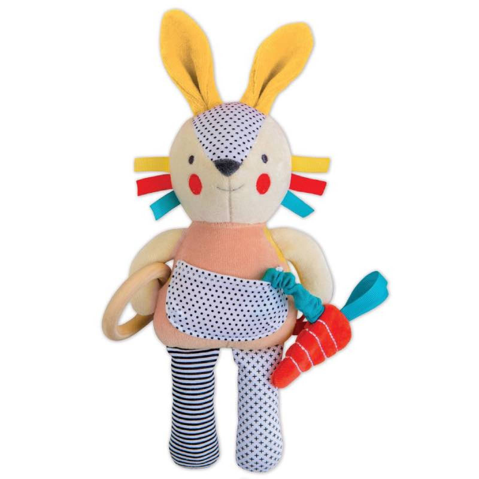Developmental Soft Toy Bunny 0yrs + By Petit Collage thumbnails